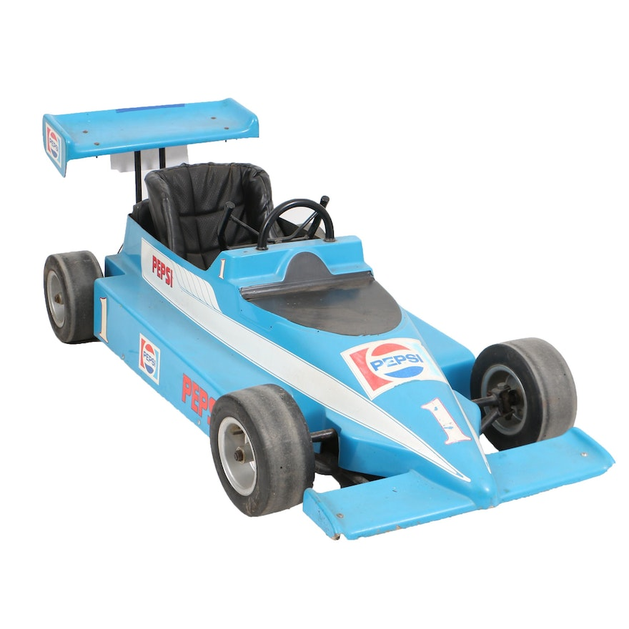 Vintage Indy Car Style Go-Kart with Pepsi Decals : EBTH