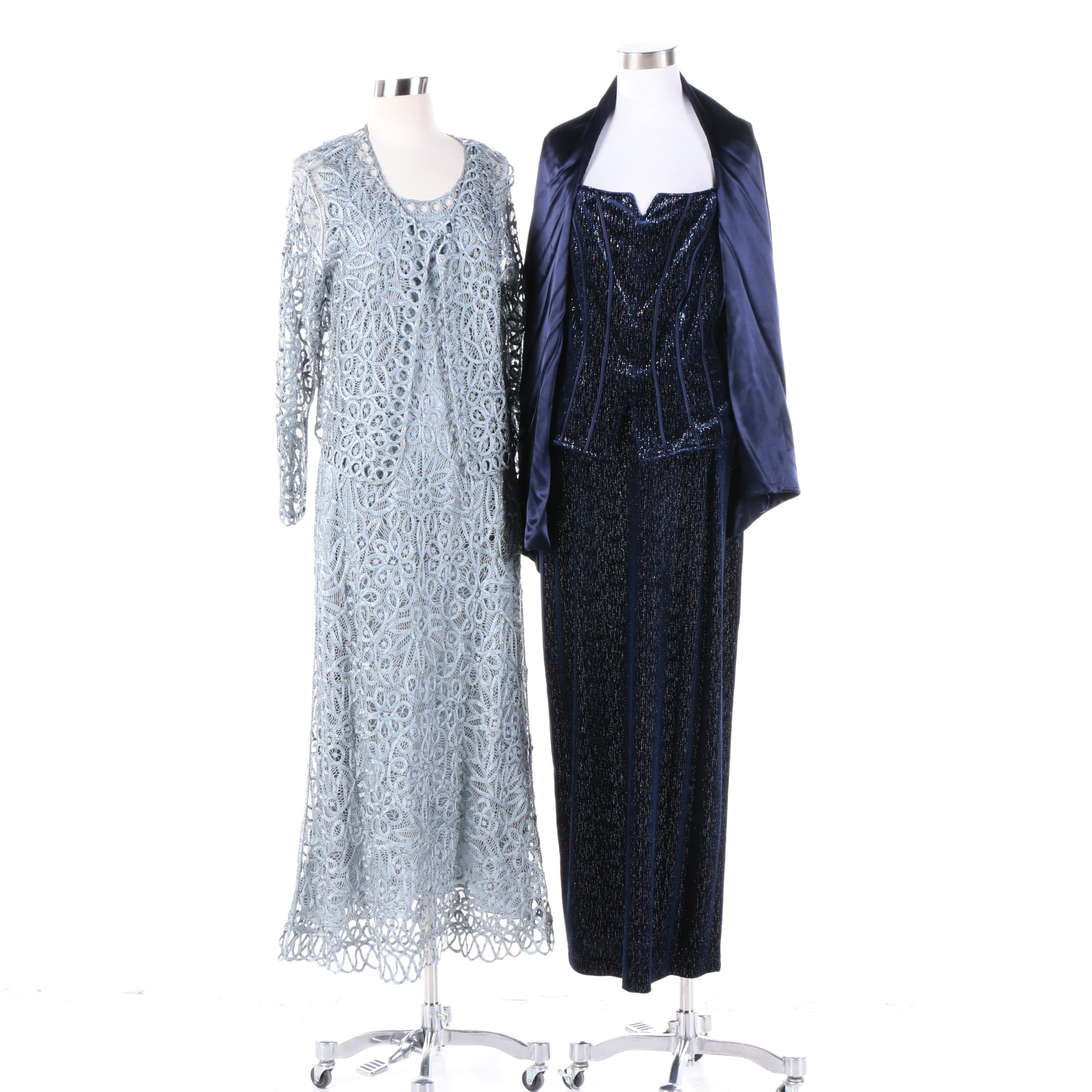 Women's Joseph Ribkoff and Soulmates Formal Evening Gowns