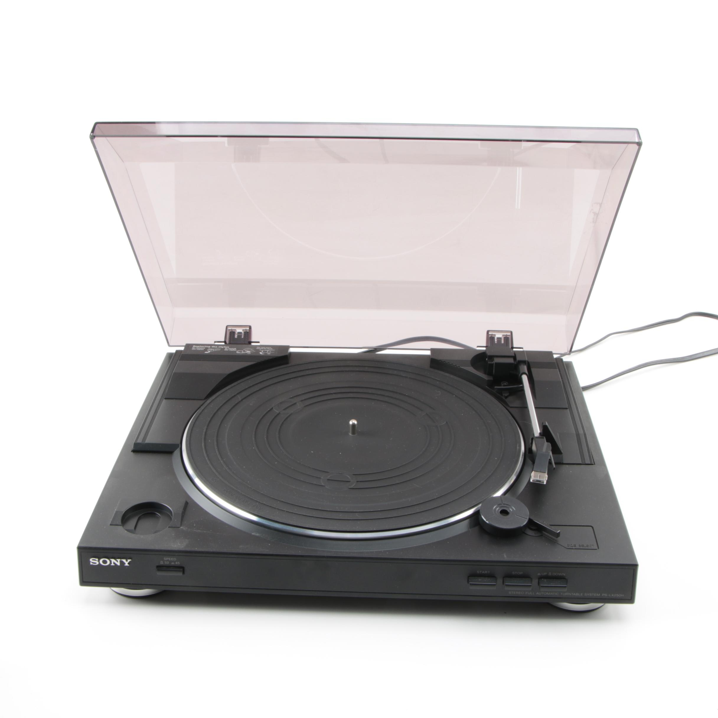 Sony Full Automatic Belt Drive PS-LX250H Turntable