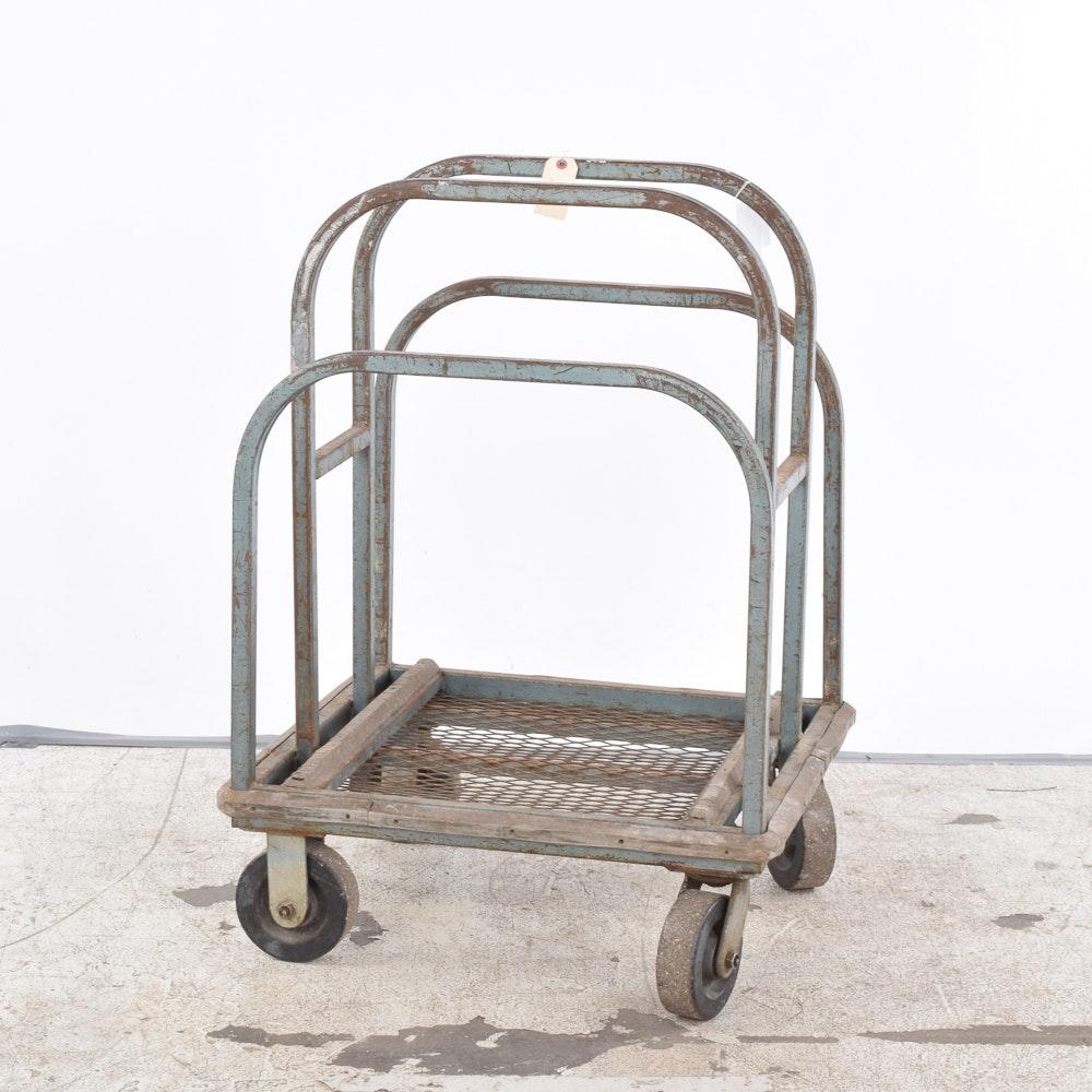 Vintage Industrial Cart