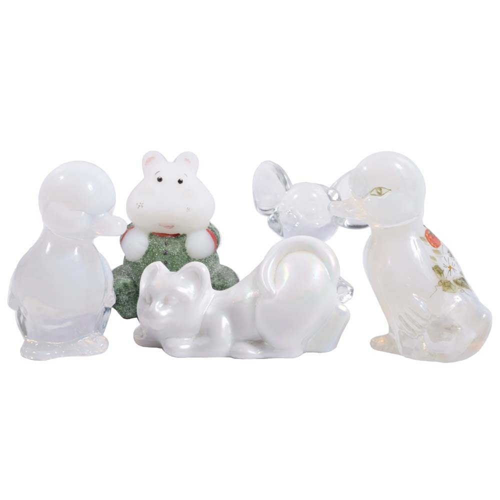 Fenton Glass Animal Figurines