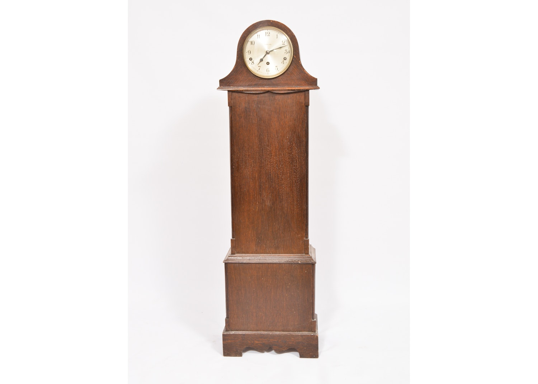 Vintage English Art Deco Walker & Hall Garrard Grandaughter Clock