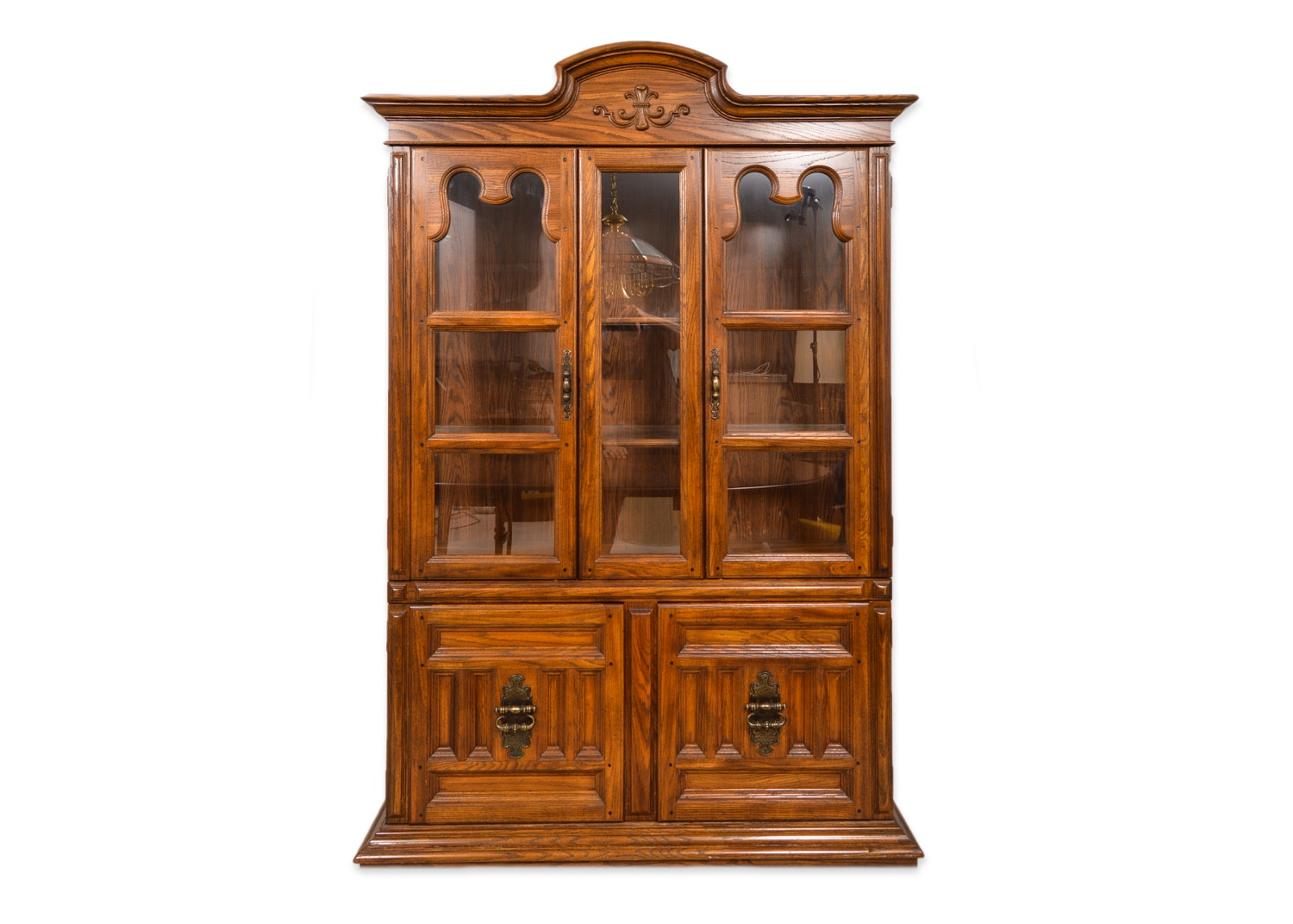 Mediterranean Style China Cabinet by Keller