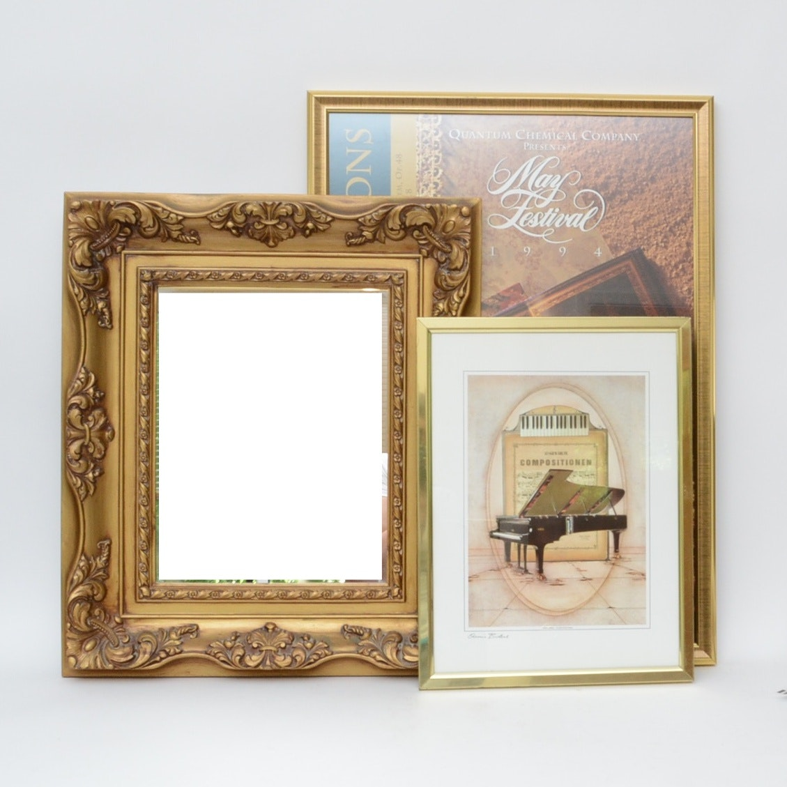 Music-Themed Artwork with Signed Print