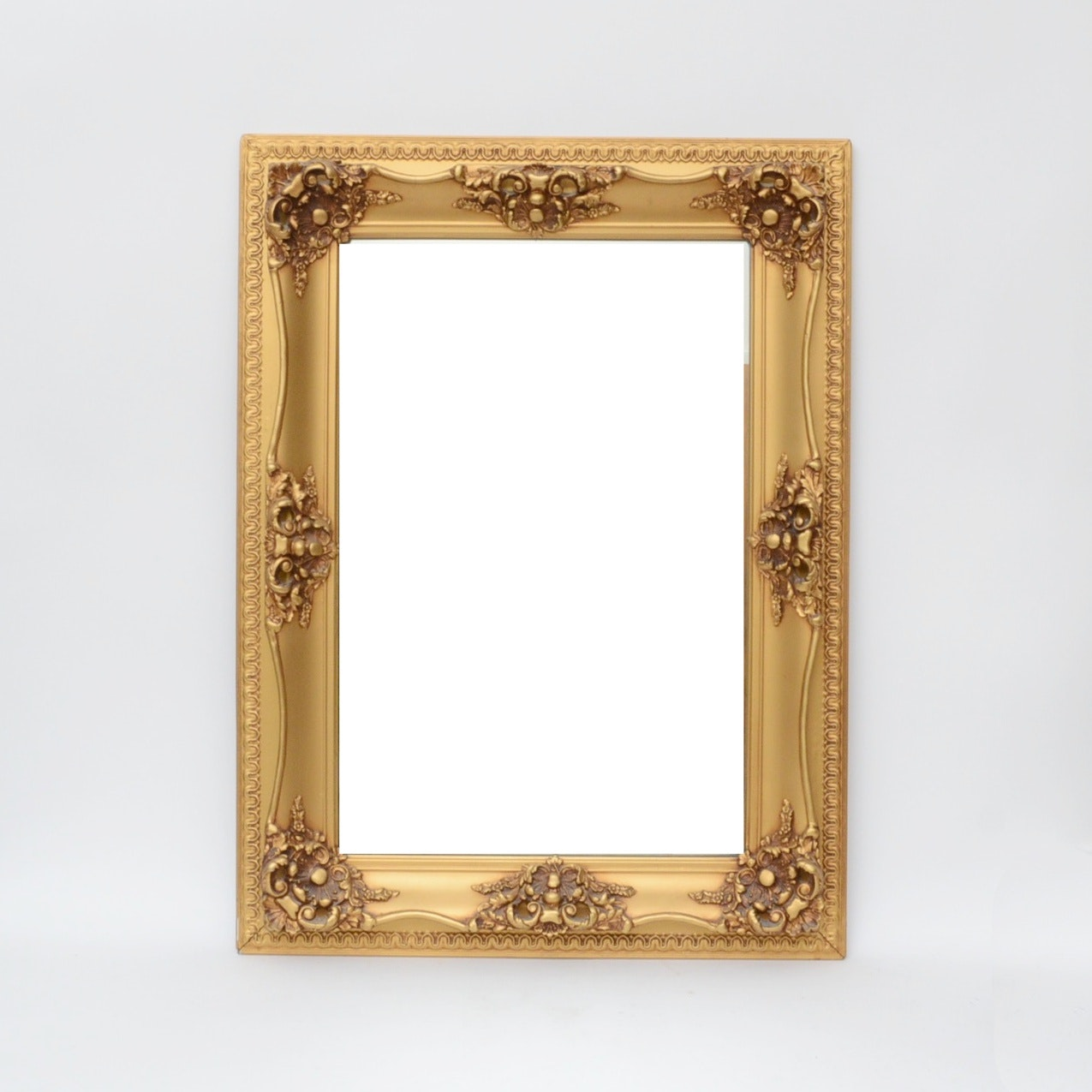 Baroque Style Gilded Wall Mirror