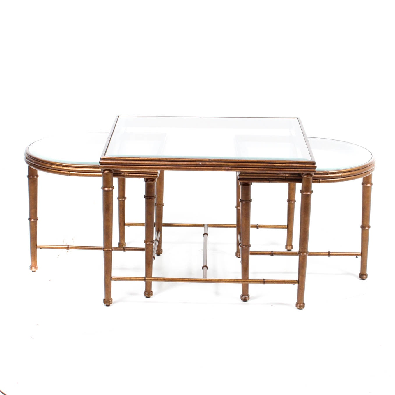 Gold Accented Nesting Tables