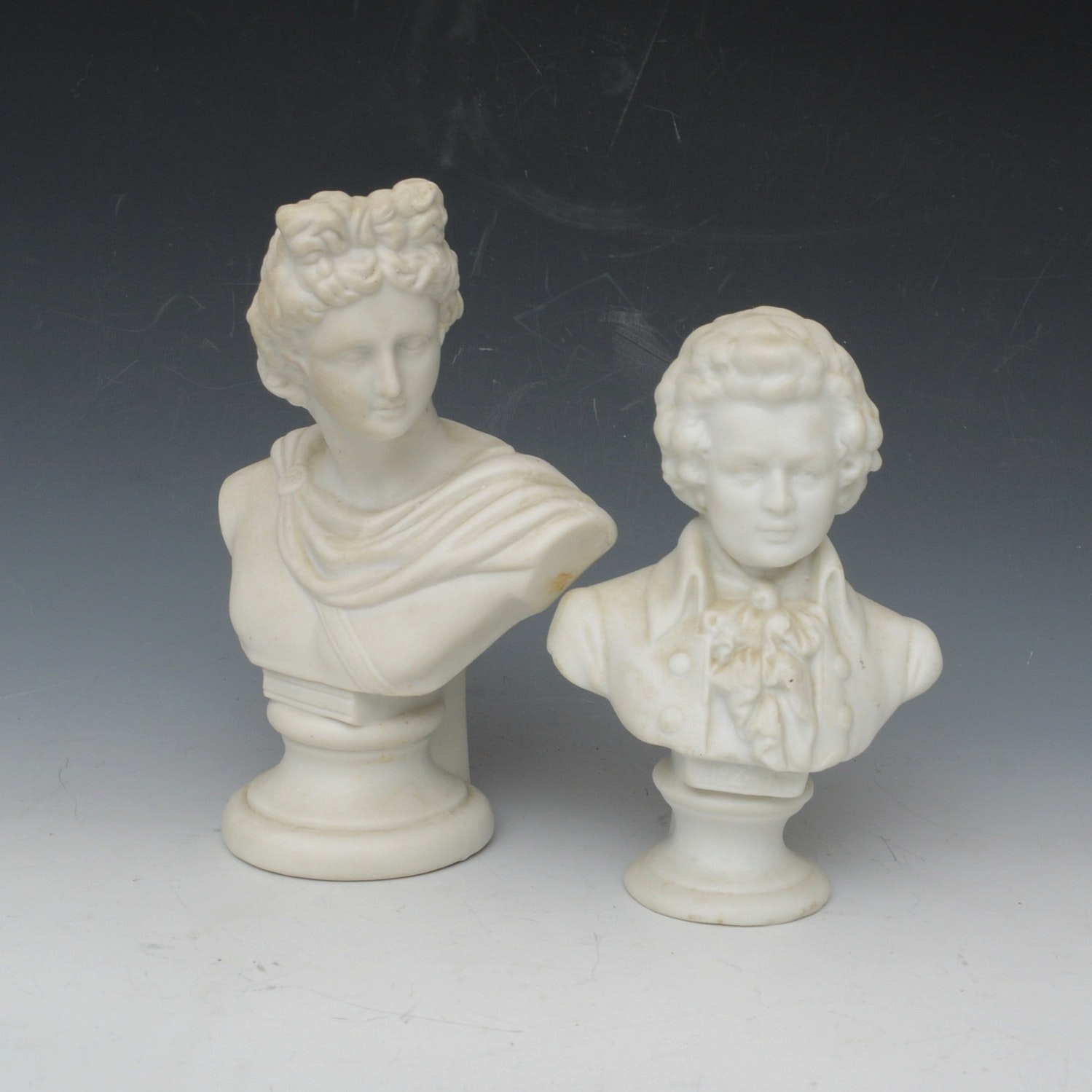 Vintage Marble Dust Busts