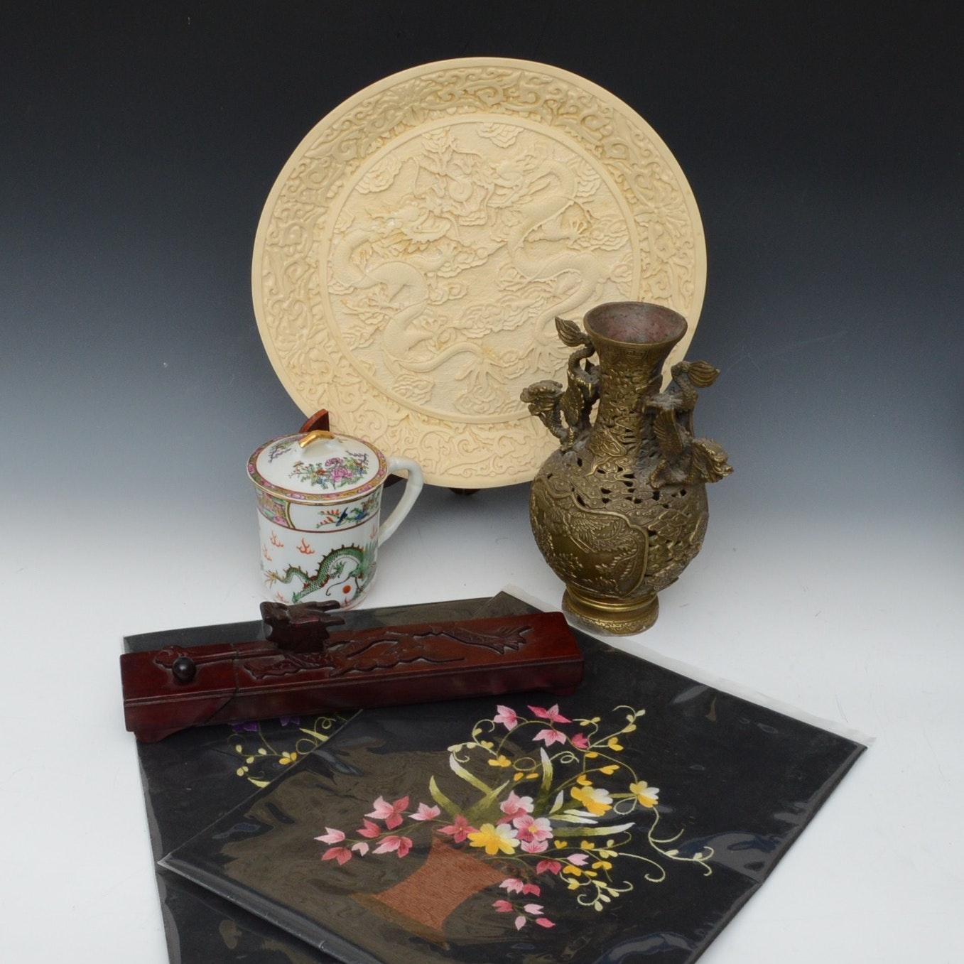 Vintage Asian Decor