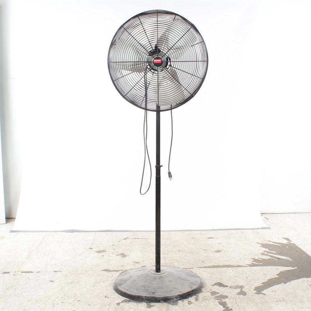 Dayton Commercial Circulator Pedestal Fan