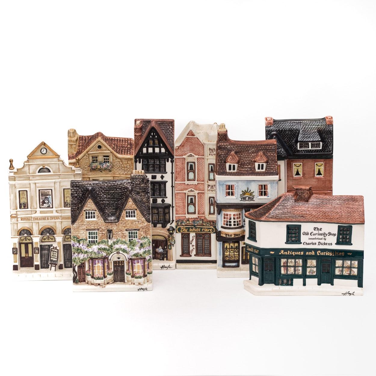 "Hazle Ceramics ""A Nation of Shopkeepers"" British Miniature Storefronts"