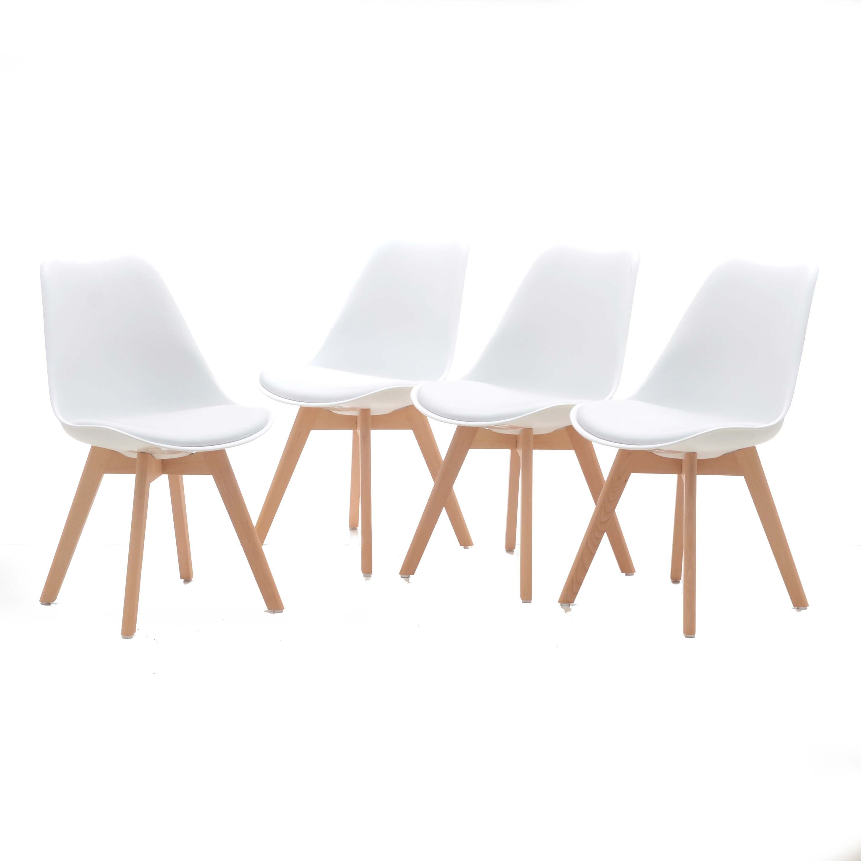 Collection of Eames Style Side Chairs