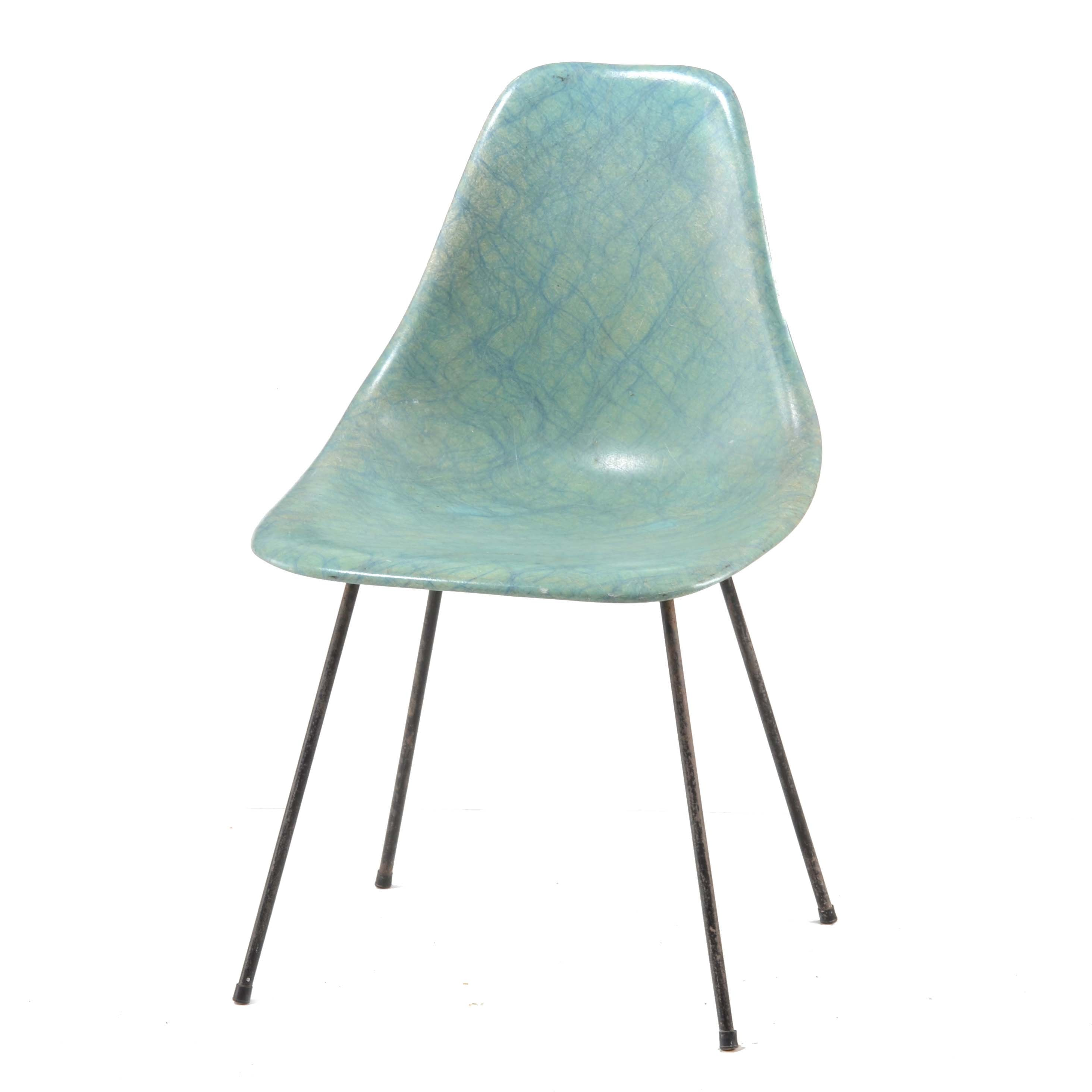 Mid Century Modern Eames Style Chair