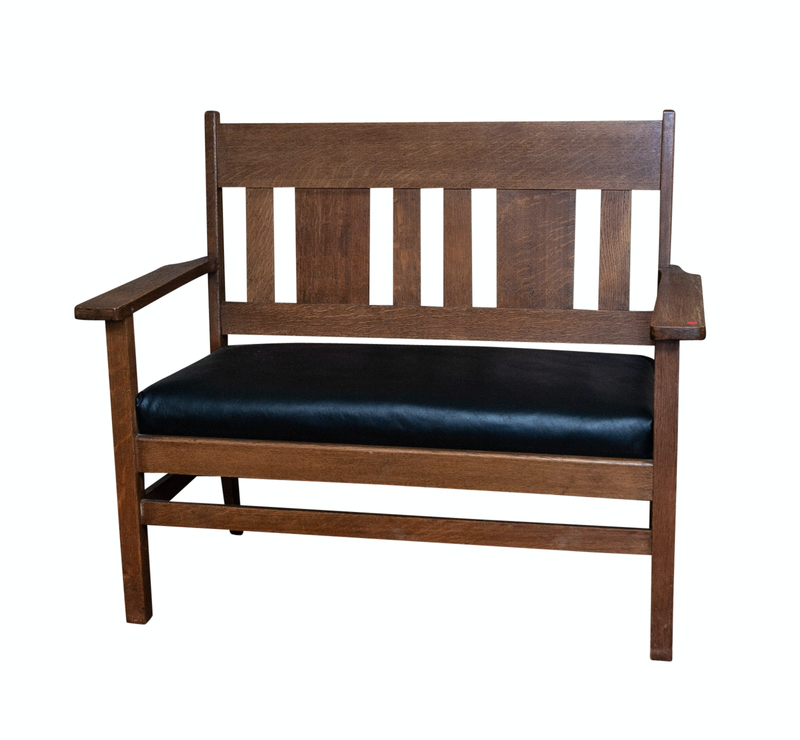 Arts and Crafts Style Bench Settee