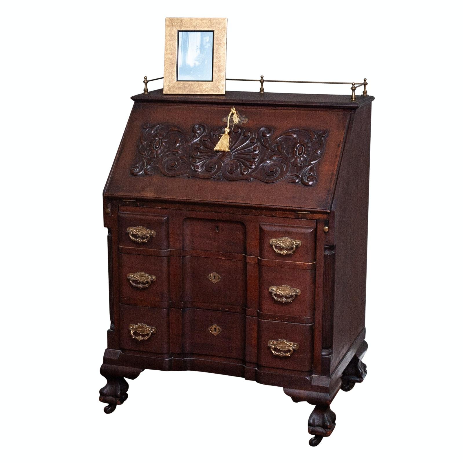 Vintage Slant-Front Desk