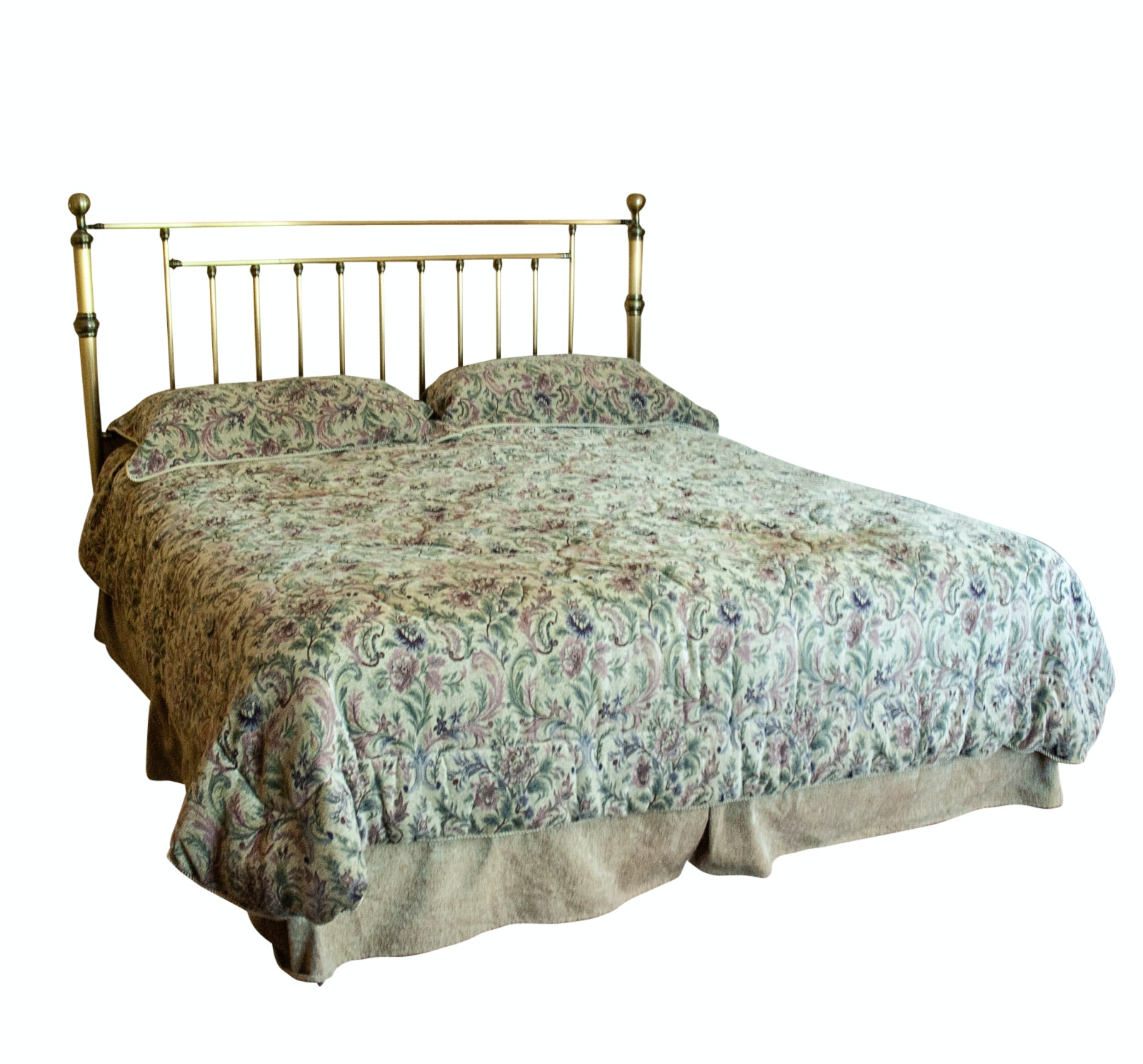 King Brass Bed Frame
