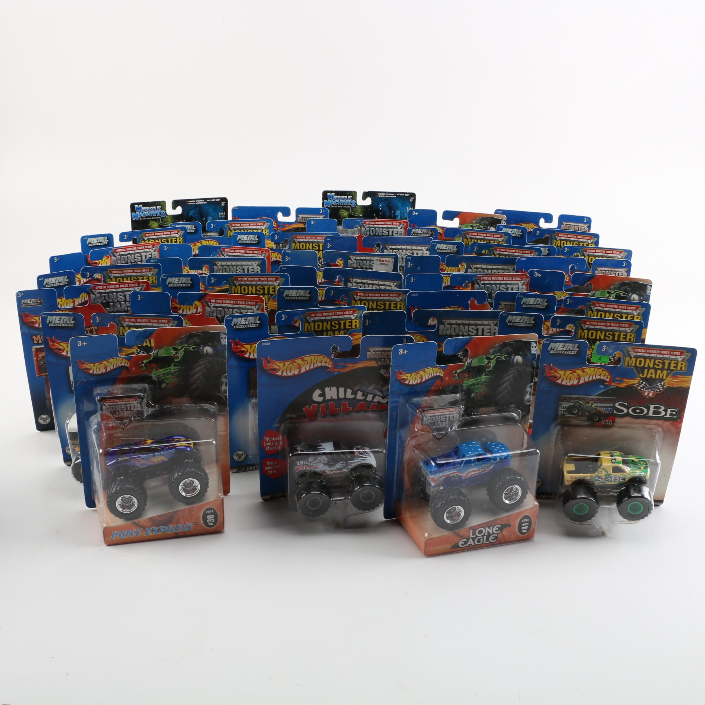 Hot Wheels Monster Truck Collection