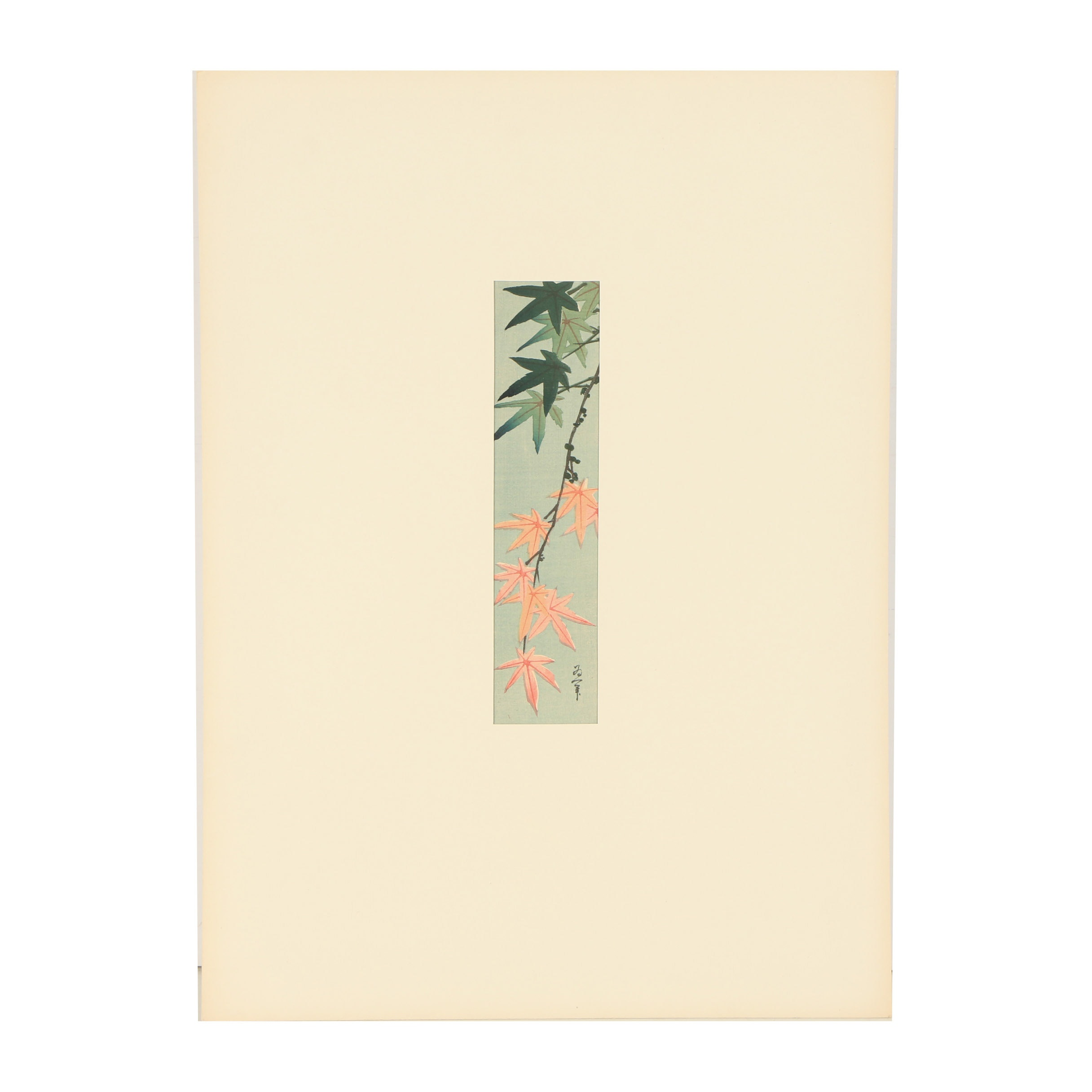 20th Century Reproduction Woodblock After Katsushika Taito II
