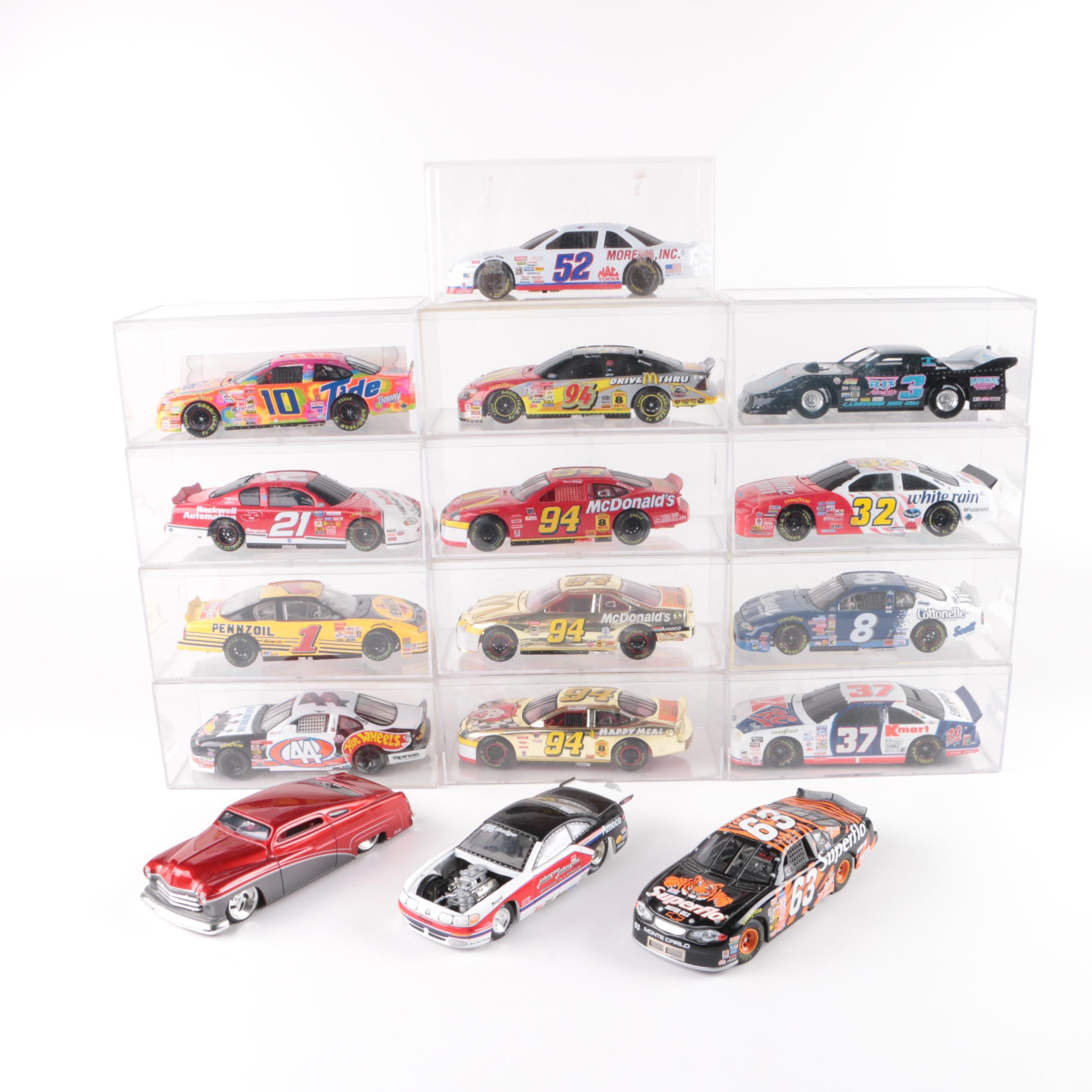 Die-Cast NASCAR Stock Cars