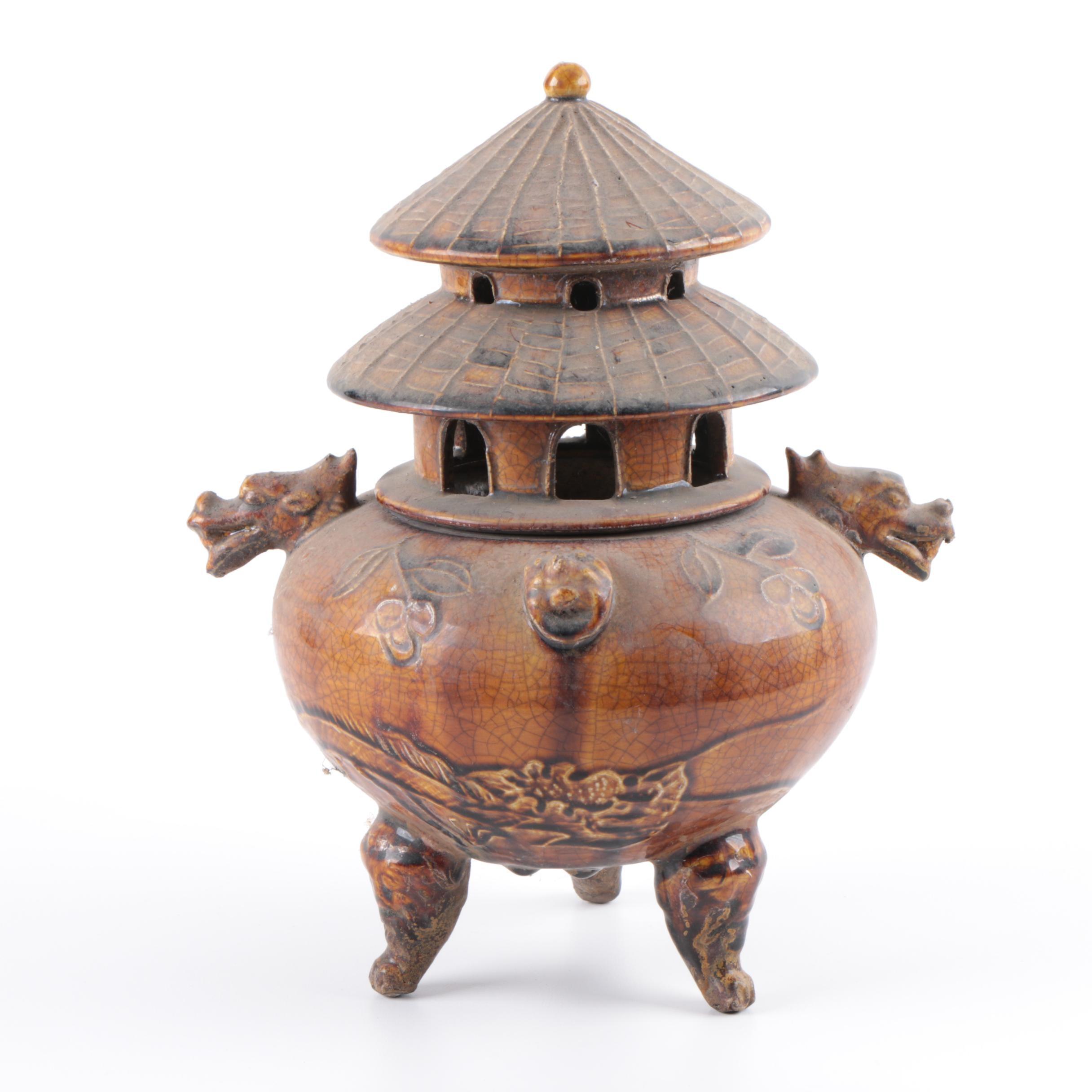 Chinese Ceramic Censer