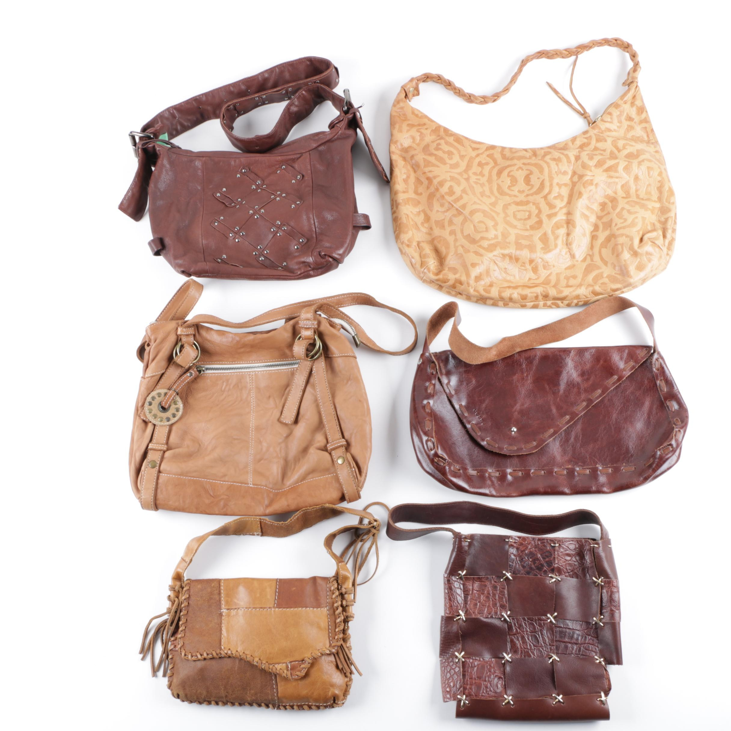 Leather Shoulder Bags Including Zara Terez, Tosca Blu, and Amy 8 Chan