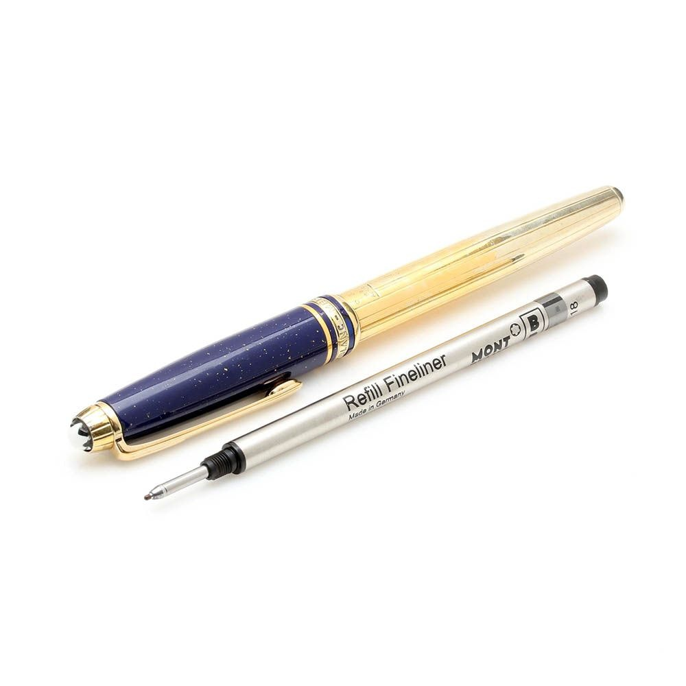 Mont Blanc Meisterstück Gold Wash on Sterling Silver Pen
