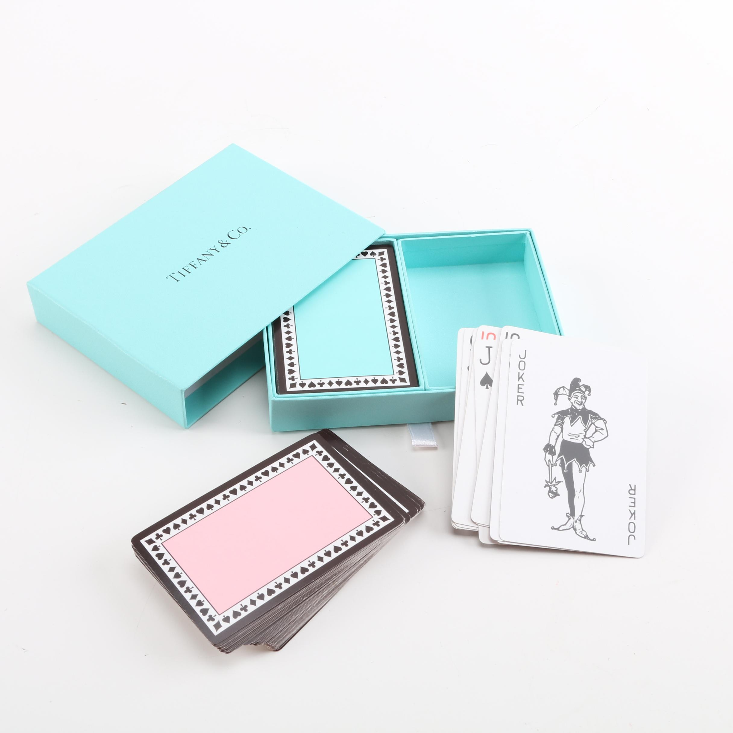 Tiffany & Co. Playing Cards with Case