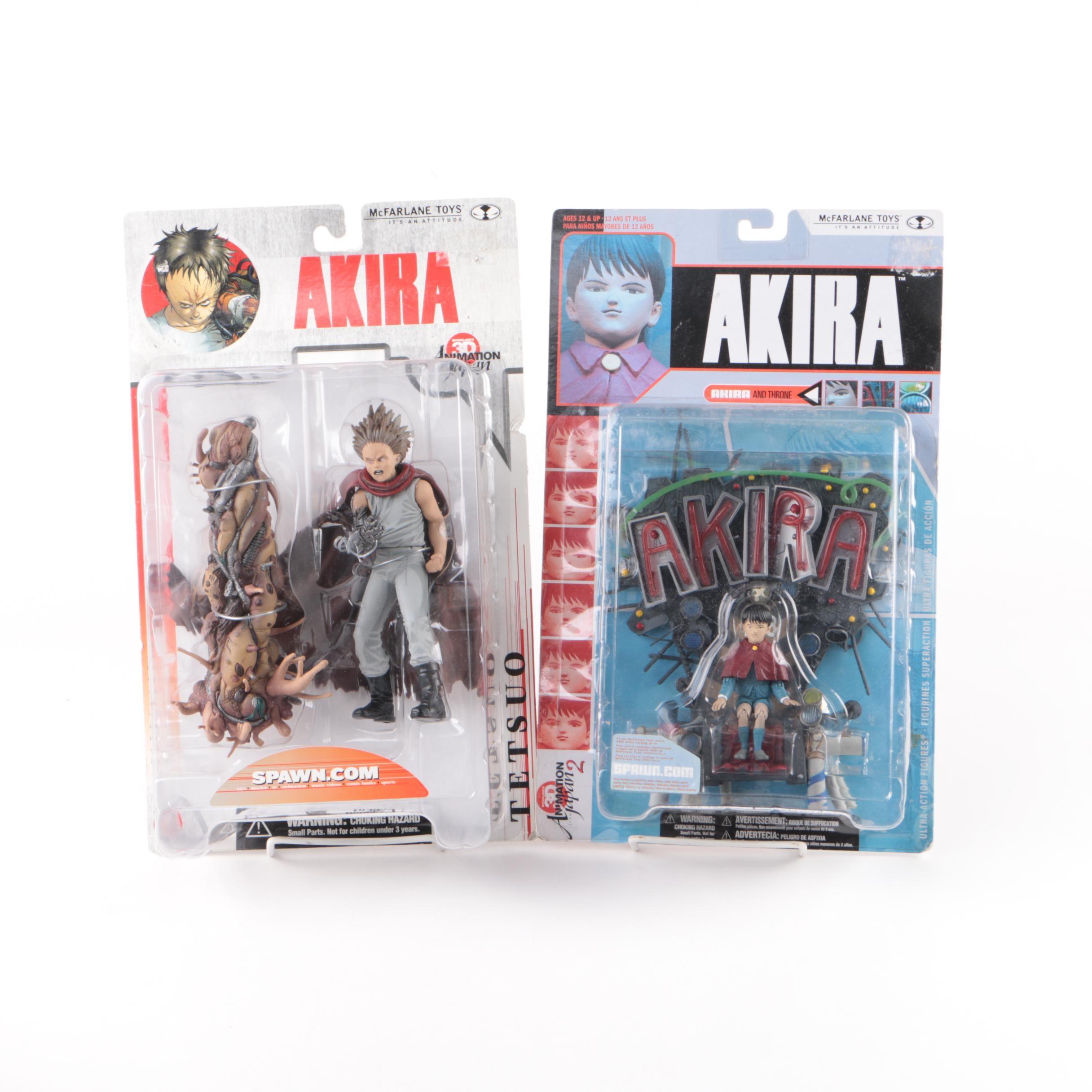 """Akira"" Action Figures McFarlane Toys 2000"