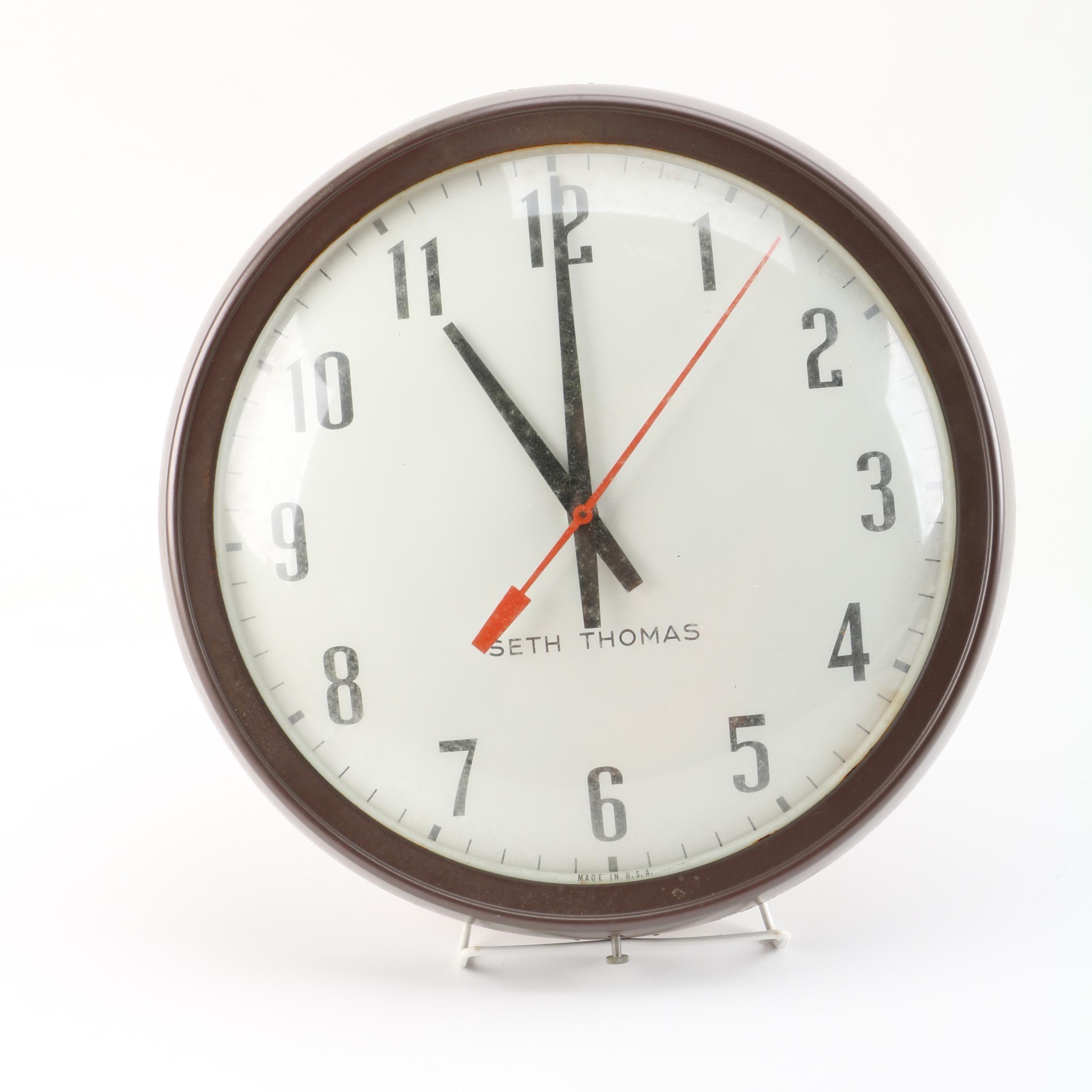 Seth Thomas Electric Wall Clock