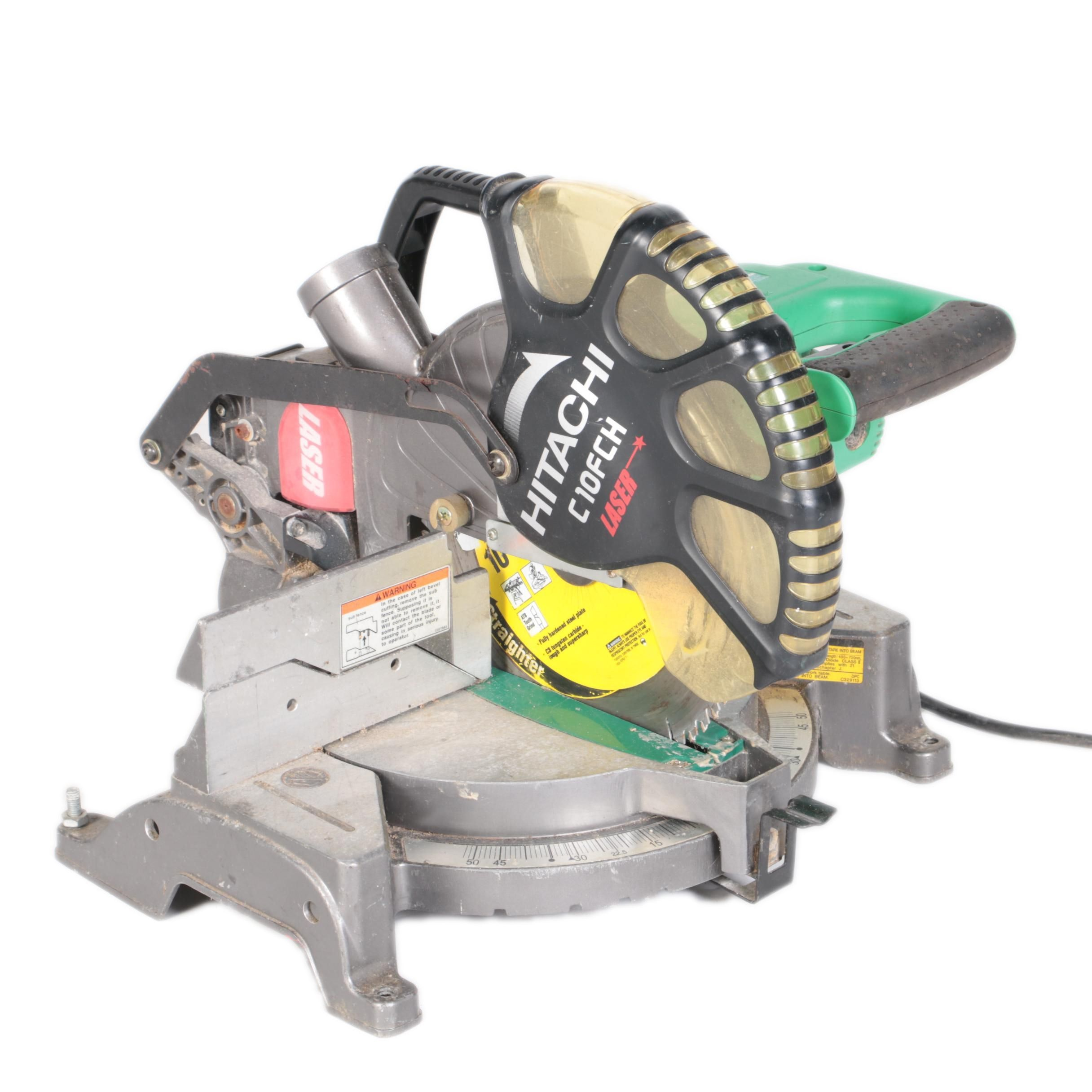 Hitachi C10FCH Laser-Guided Compound Miter Saw