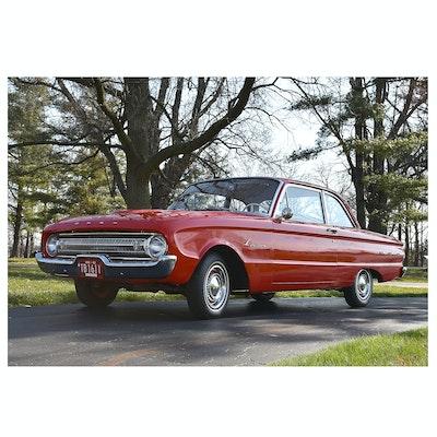 1961 Ford Falcon Futura Sedan in Monte Carlo Red