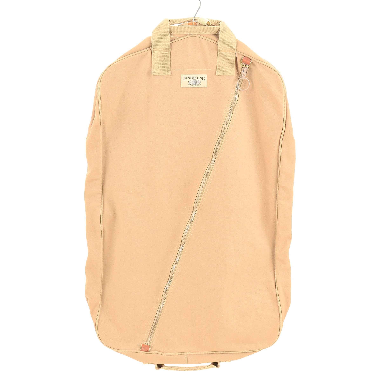 Lands' End Square Rigger Tan Garment Bag