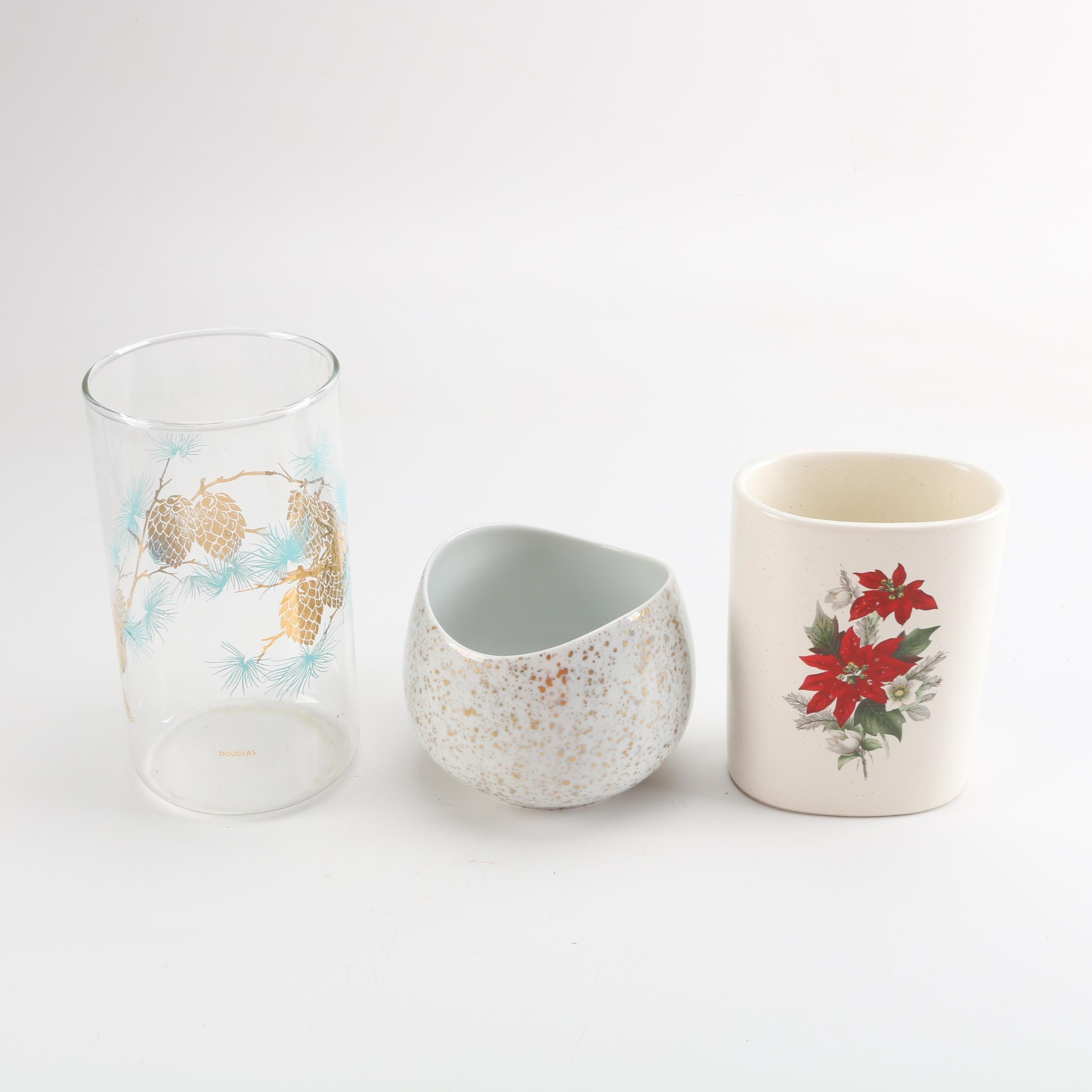 China and Pottery Vases