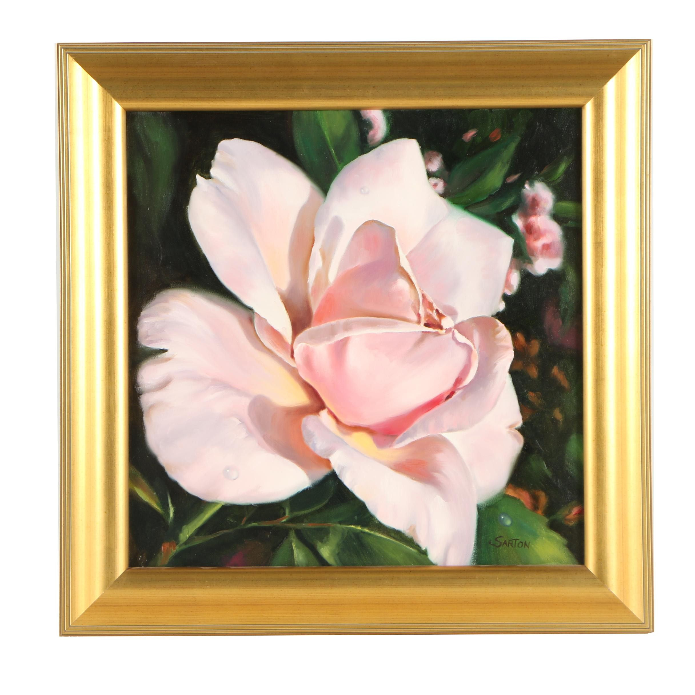 Julie Sarton Oil Painting