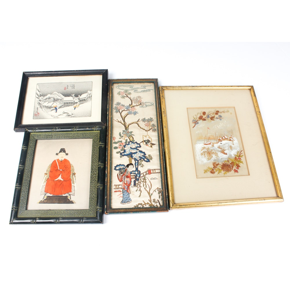 East Asian Wall Art Collection
