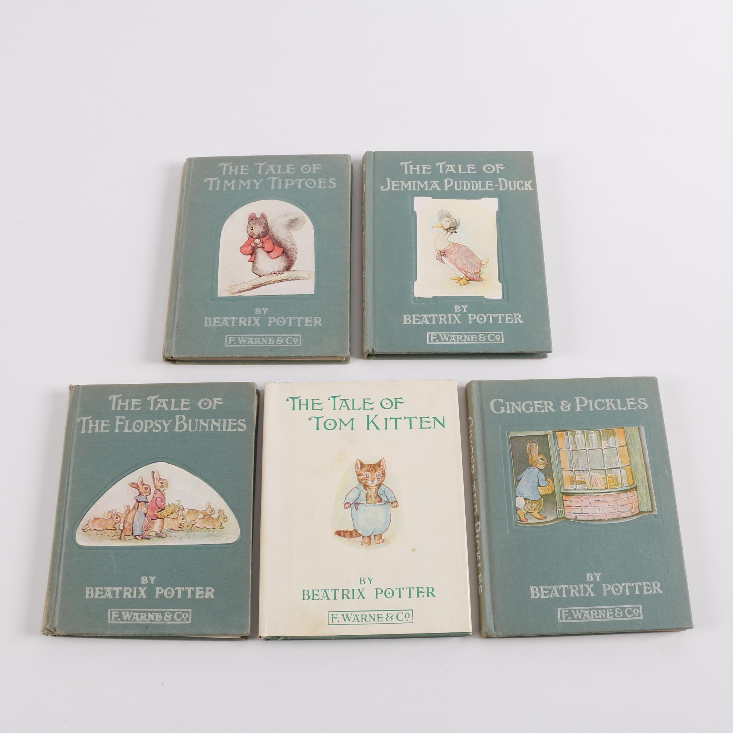 1930s Beatrix Potter Children's Literature