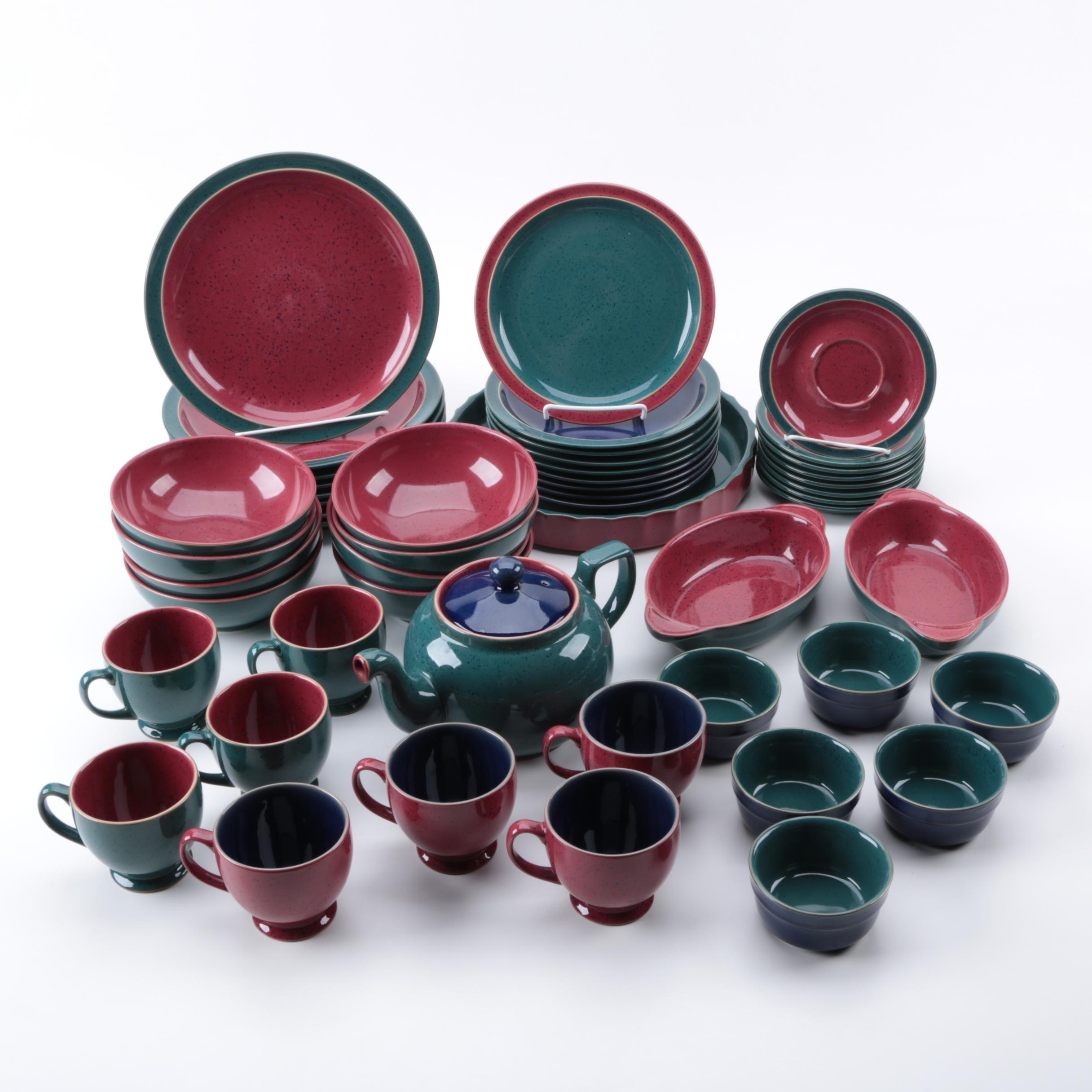 "Denby-Langely ""Harlequin"" Stoneware Tableware"