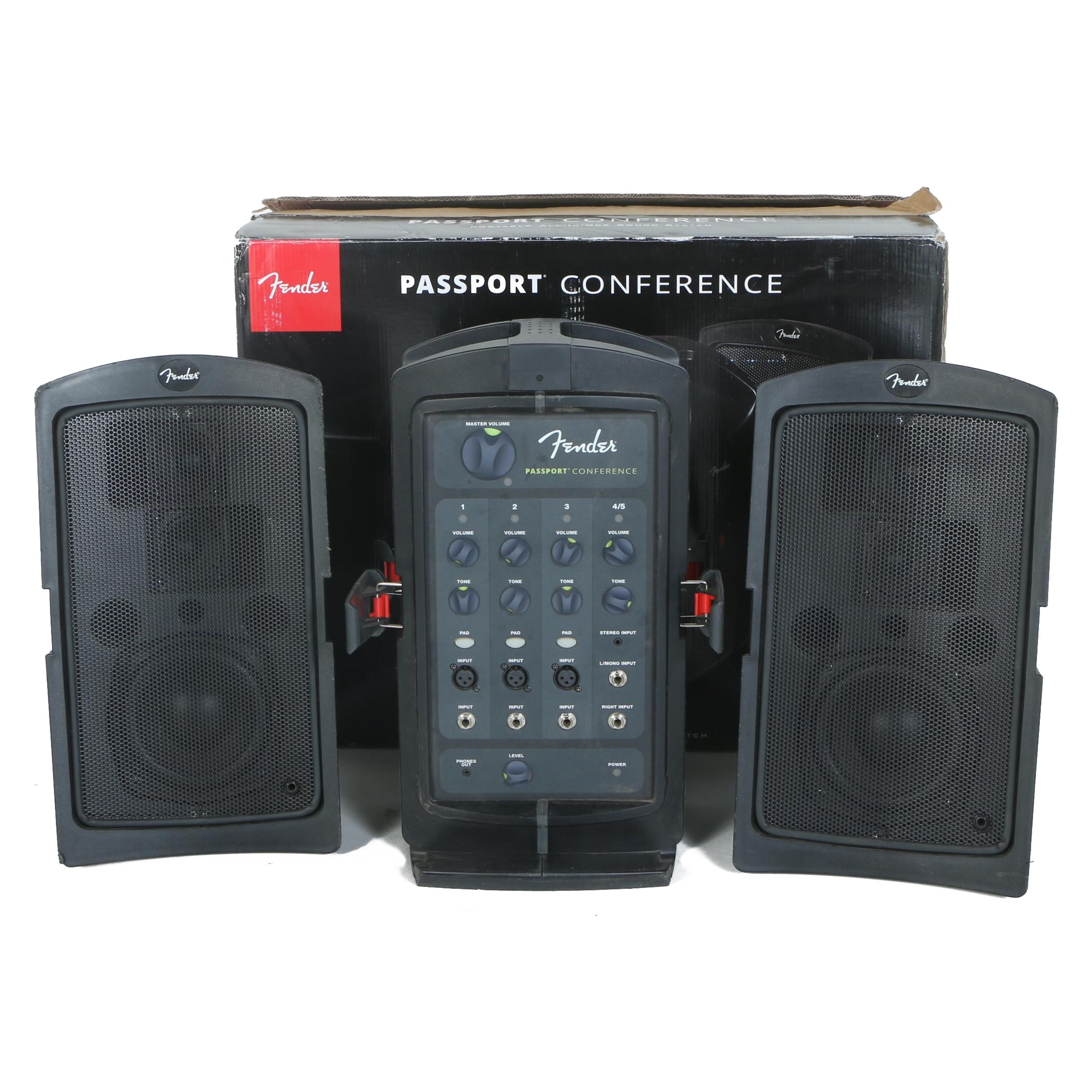 Fender Passport Conference PA Sound System