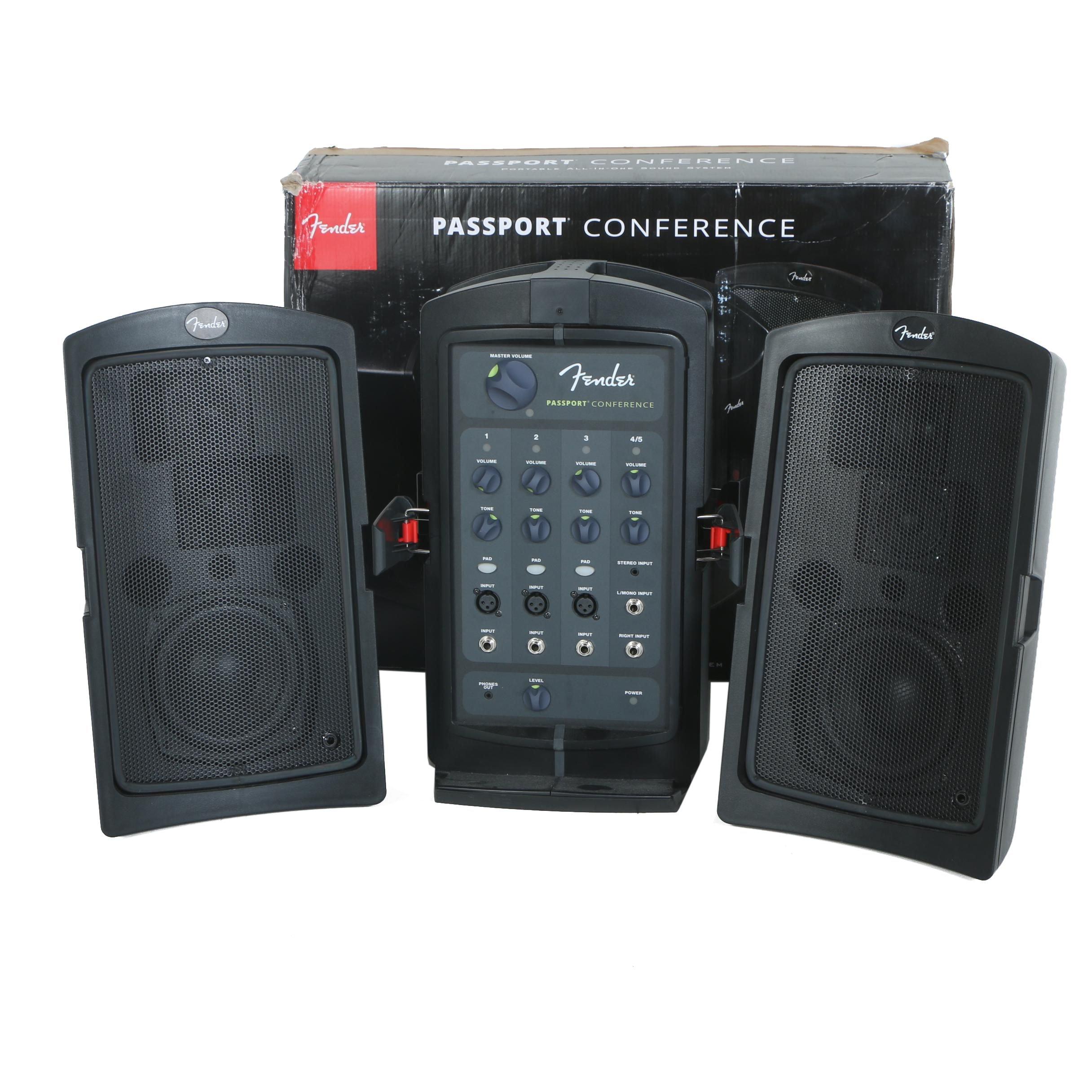 "Fender ""Passport Conference"" PA Sound System"