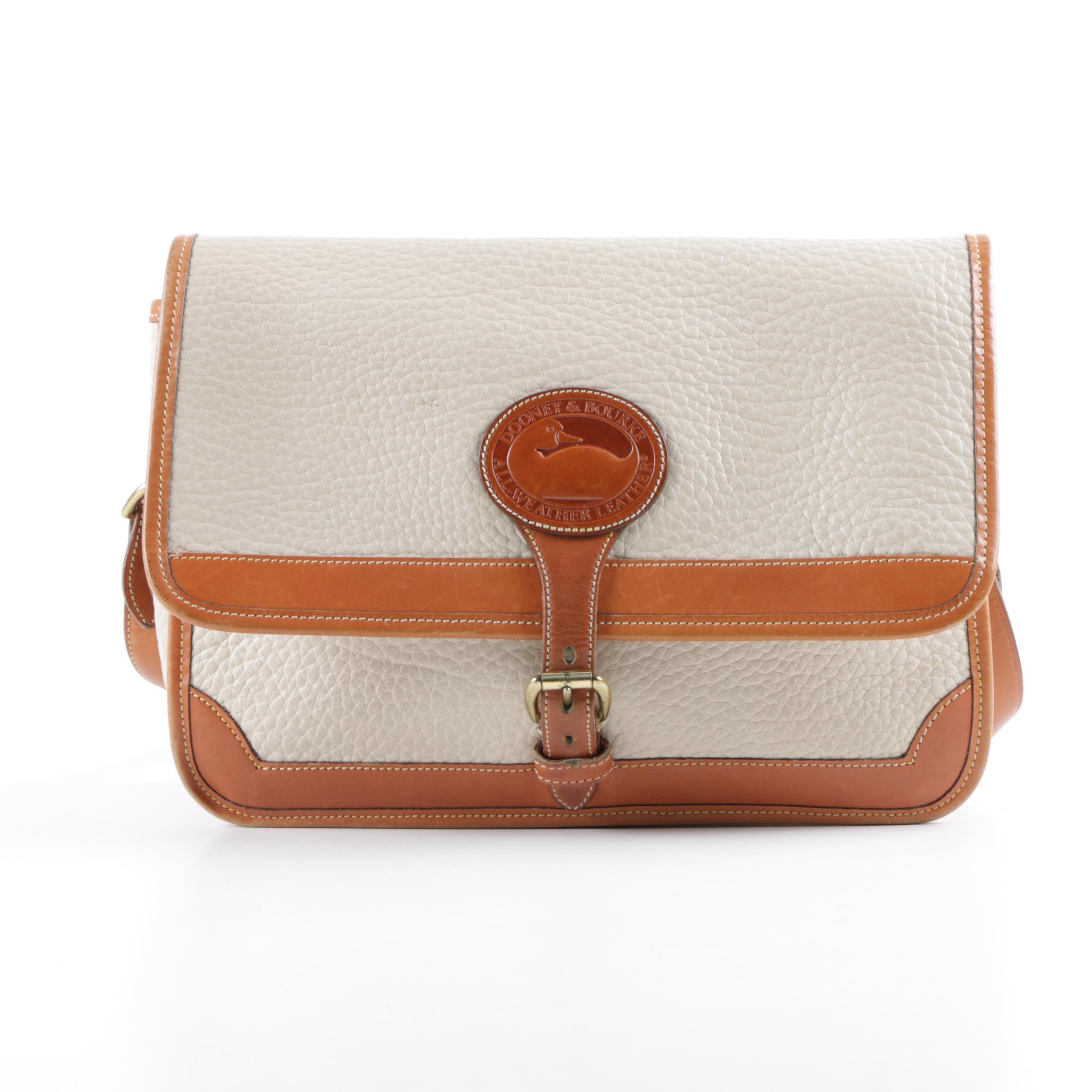 Vintage Dooney & Bourke All-Weather Leather Shoulder Bag