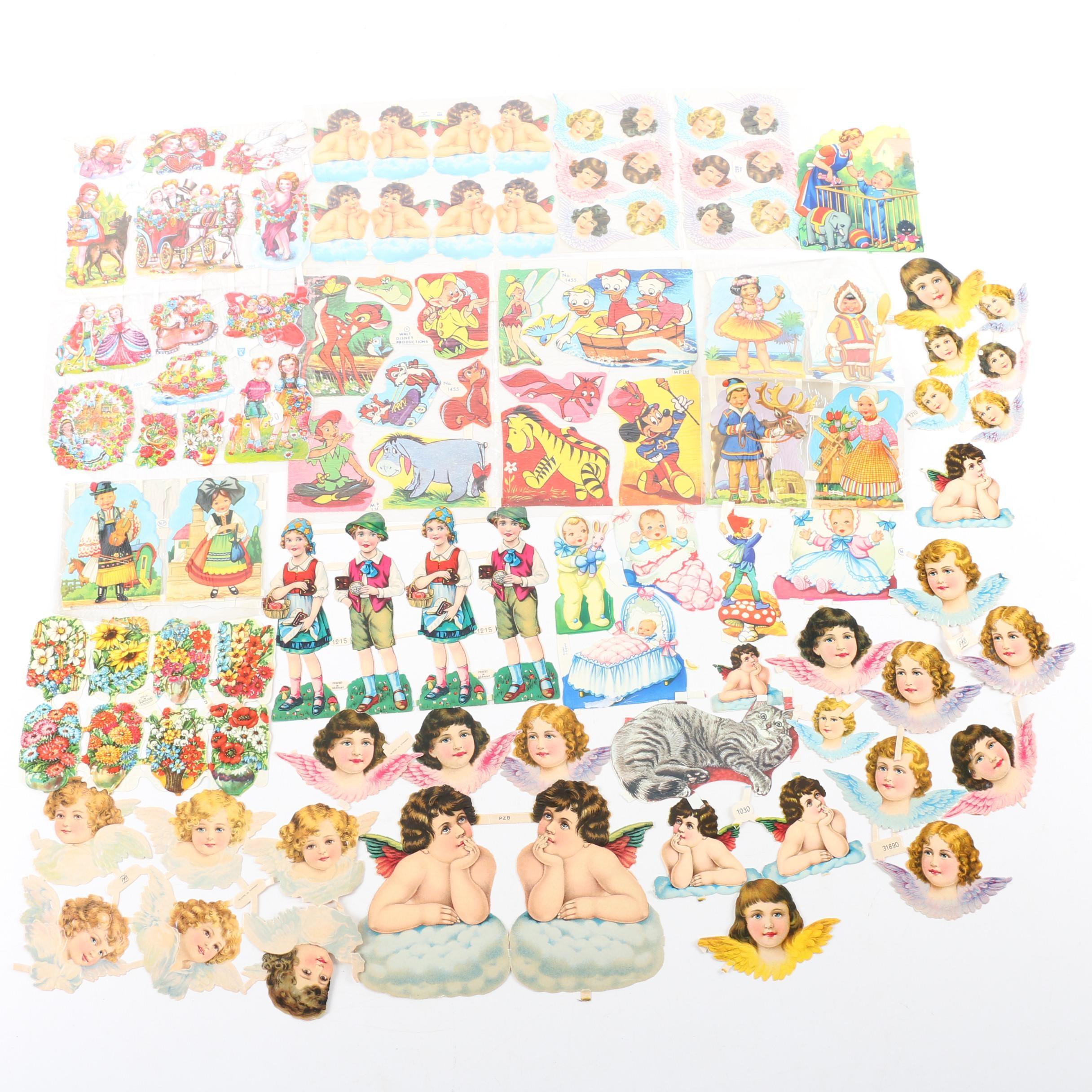 Paper Cutouts Including Disney