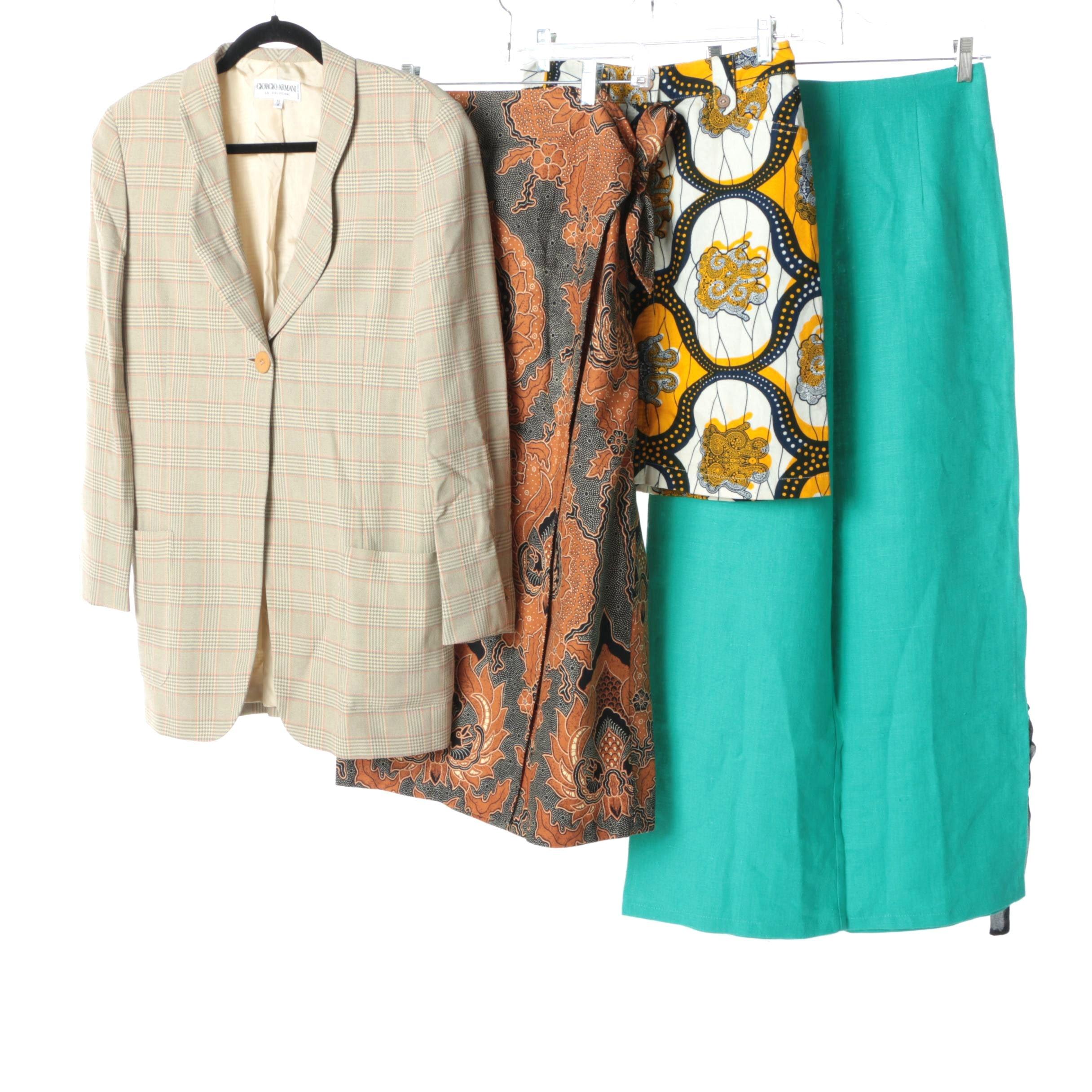 Women's Clothing Including Giorgio Armani Le Collezioni and J. McLaughlin