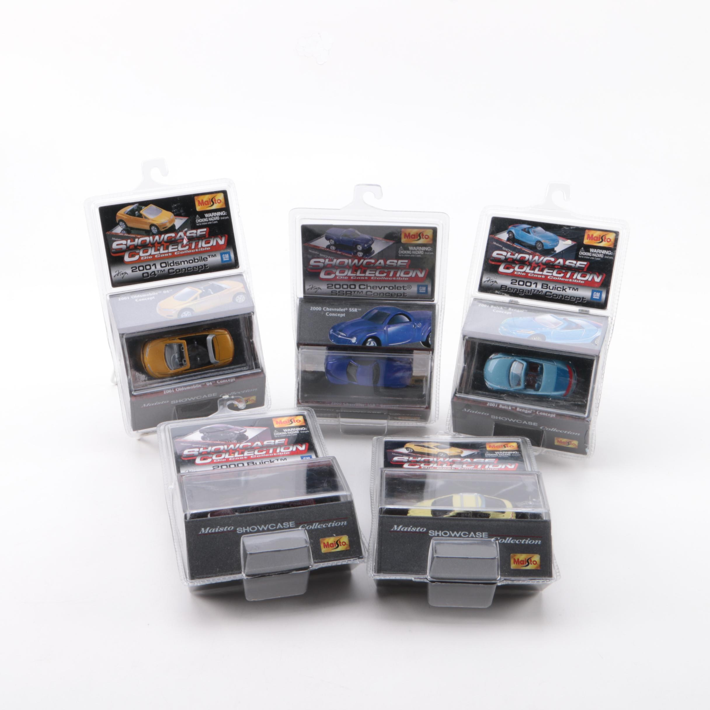 Maisto Showcase Collection Miniature Scale Die-Cast Cars