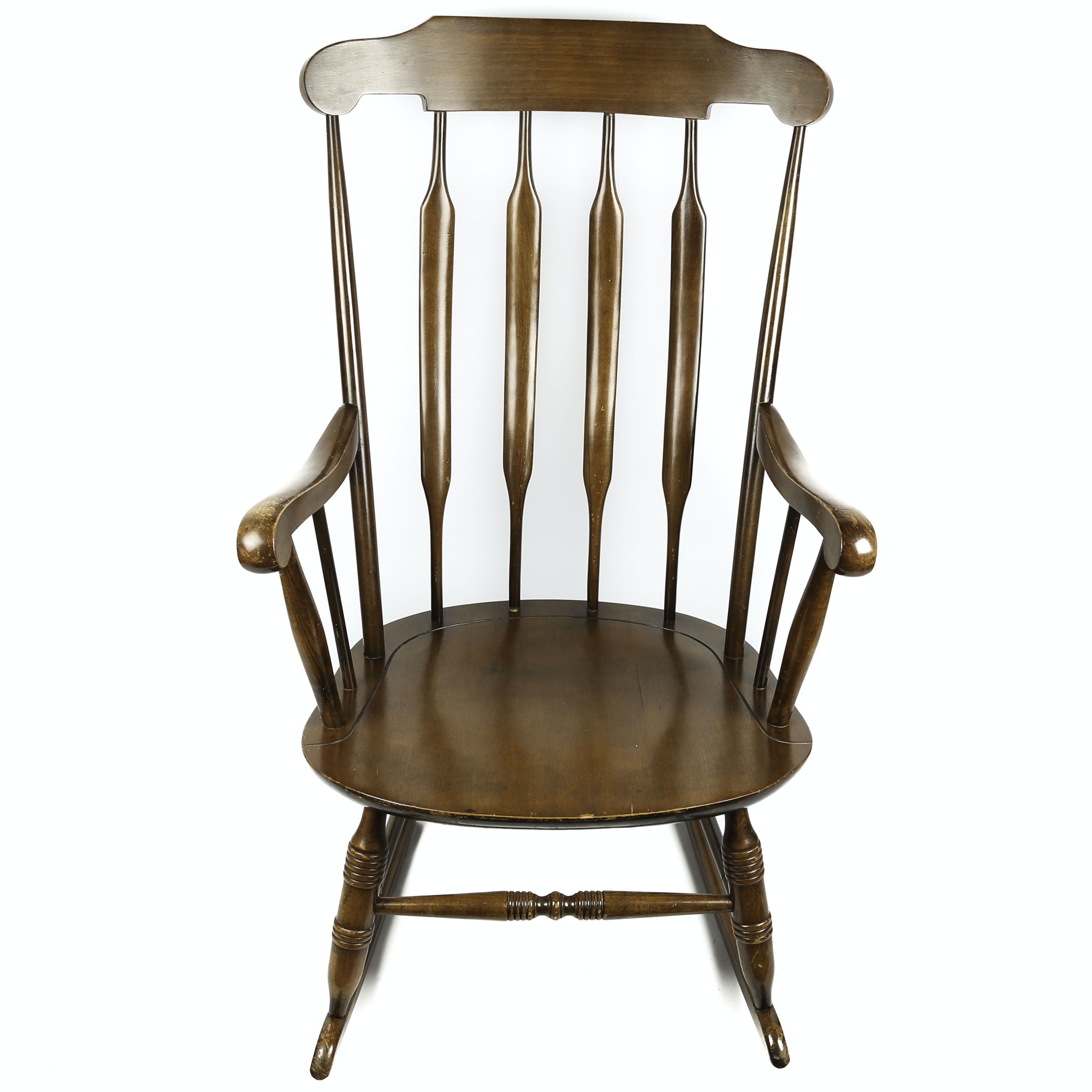 Vintage Colonial Style Rocking Chair