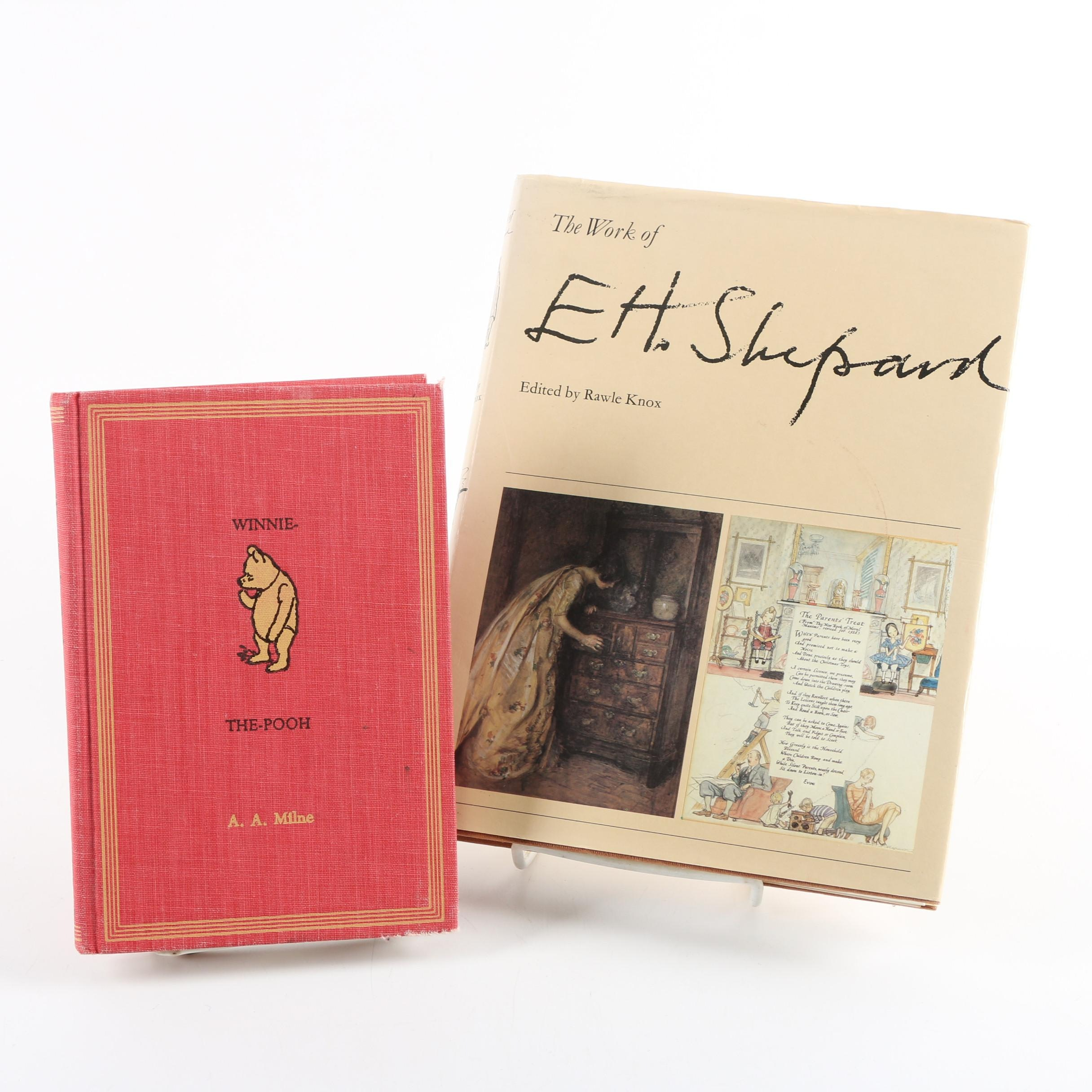 """1961 E. H. Shepard Illustrated """"Winnie-the-Pooh"""" by A. A. Milne"""