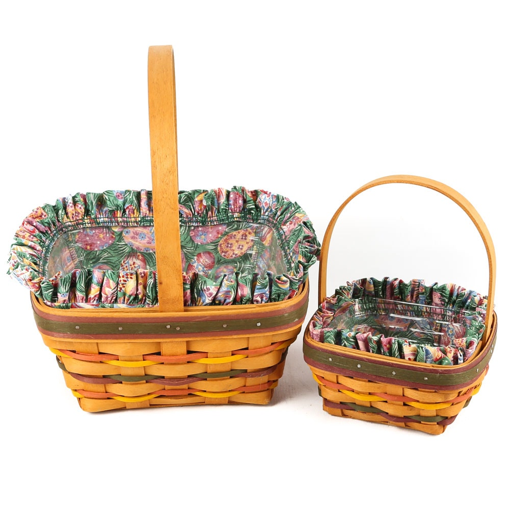 Longaberger Easter Baskets 1998 Edition