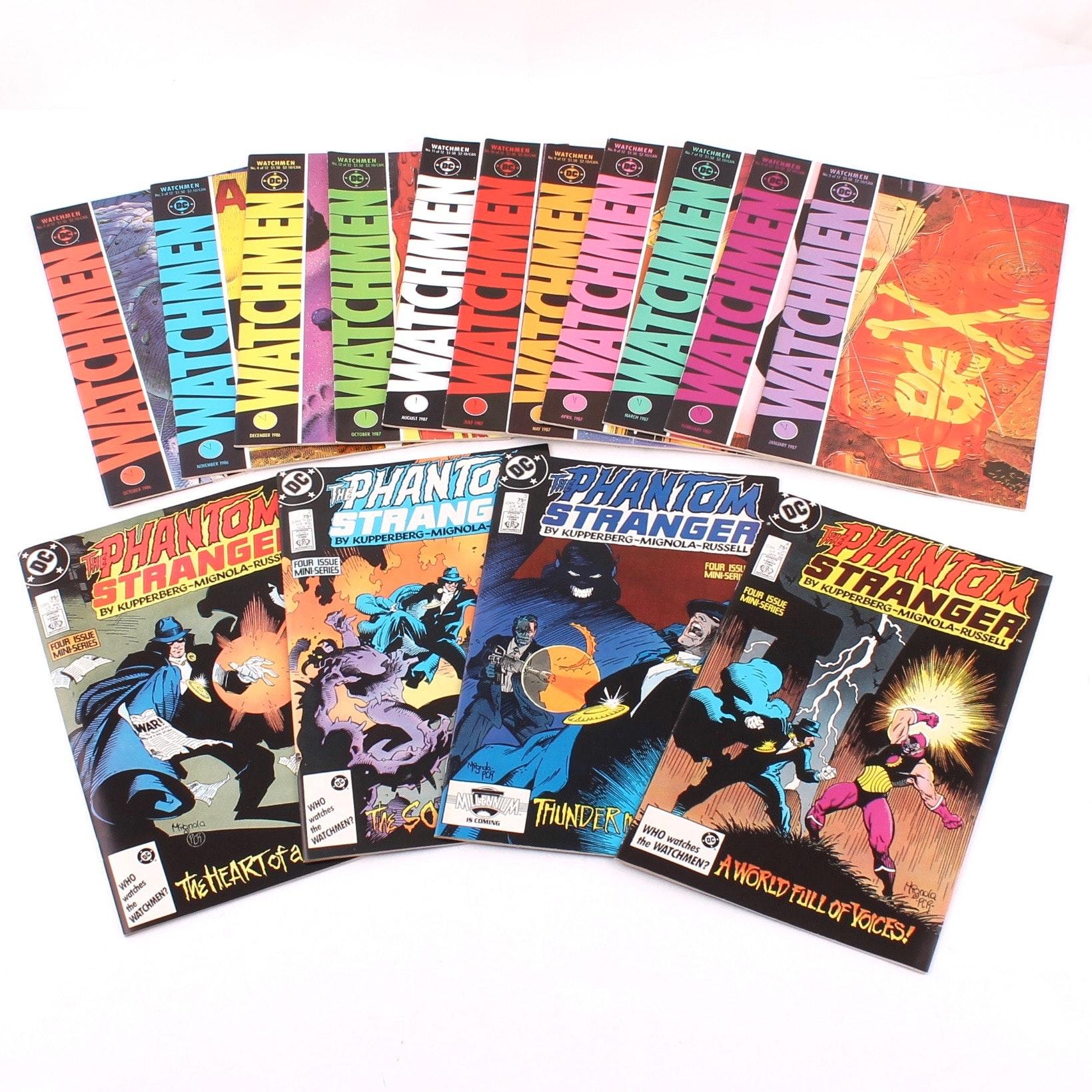 """Watchmen"" and ""Phantom Stranger"" Comic Books"