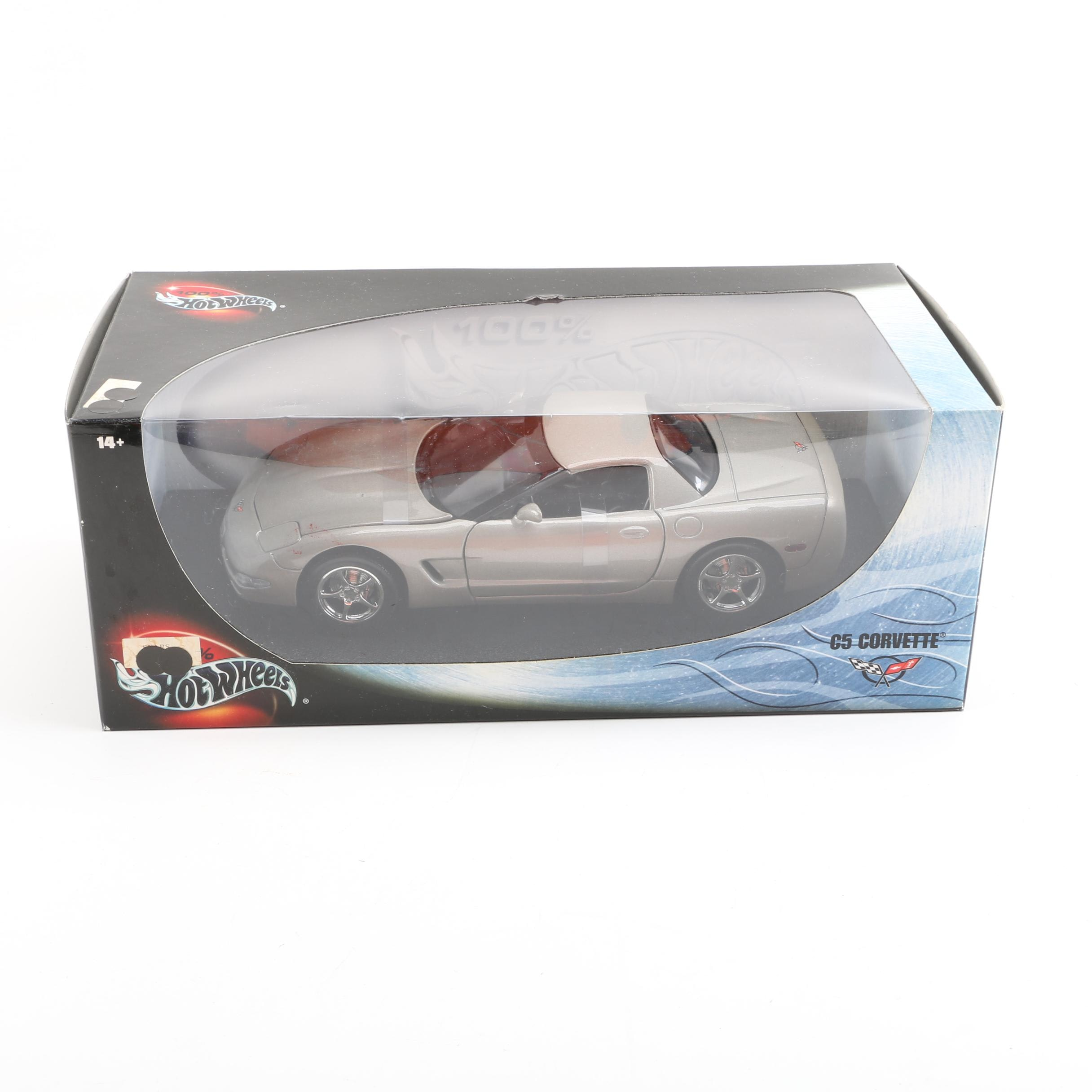 Hot Wheels Die-Cast C5 Corvette