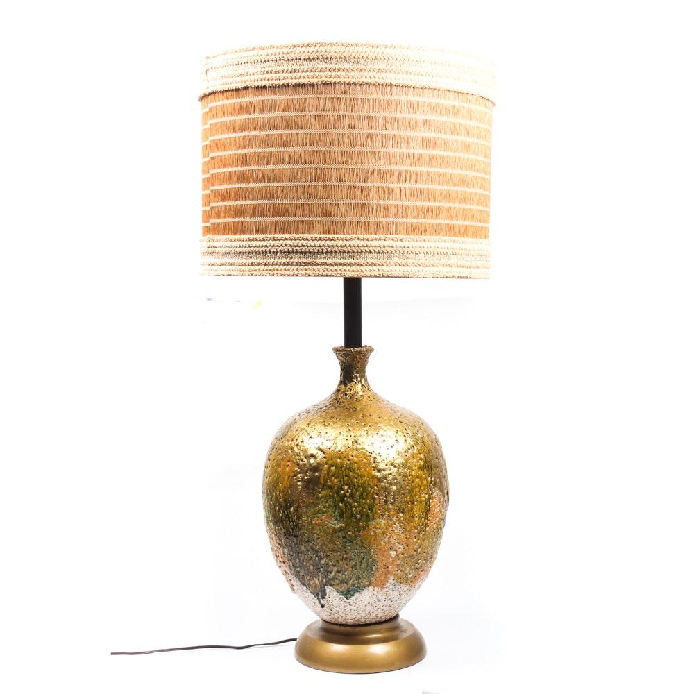 Mid Century Ceramic Table Lamp