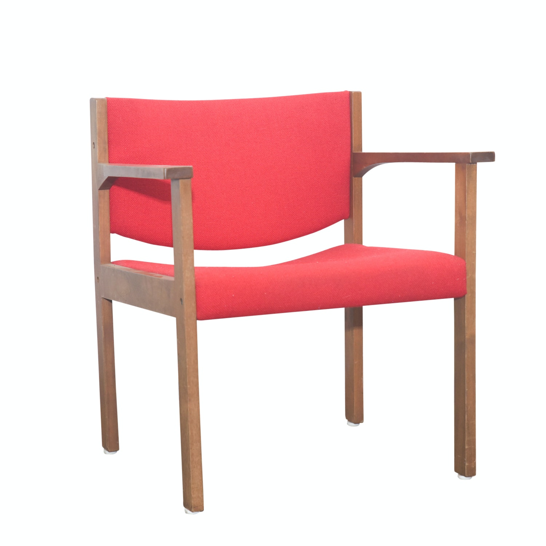 Vintage Danish Modern Armchair by Harter Lübke