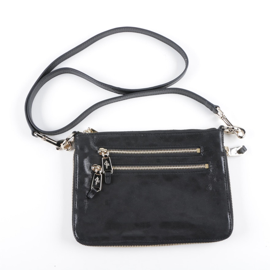 9d3063e69e6e Cole Haan Black Leather Crossbody   EBTH